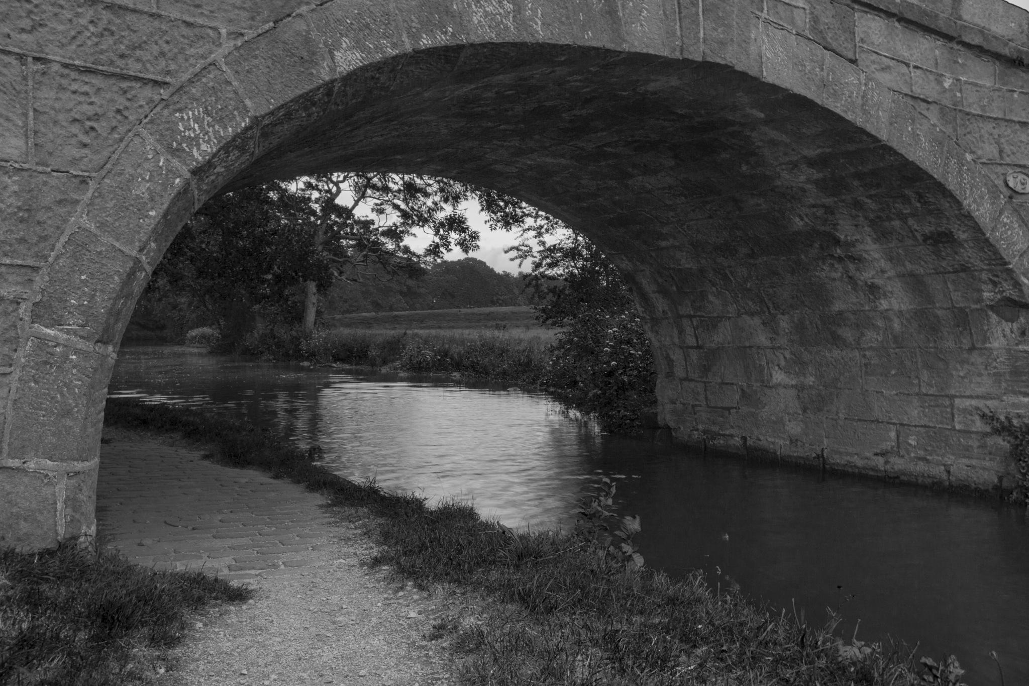 Through the bridge by Kevhyde
