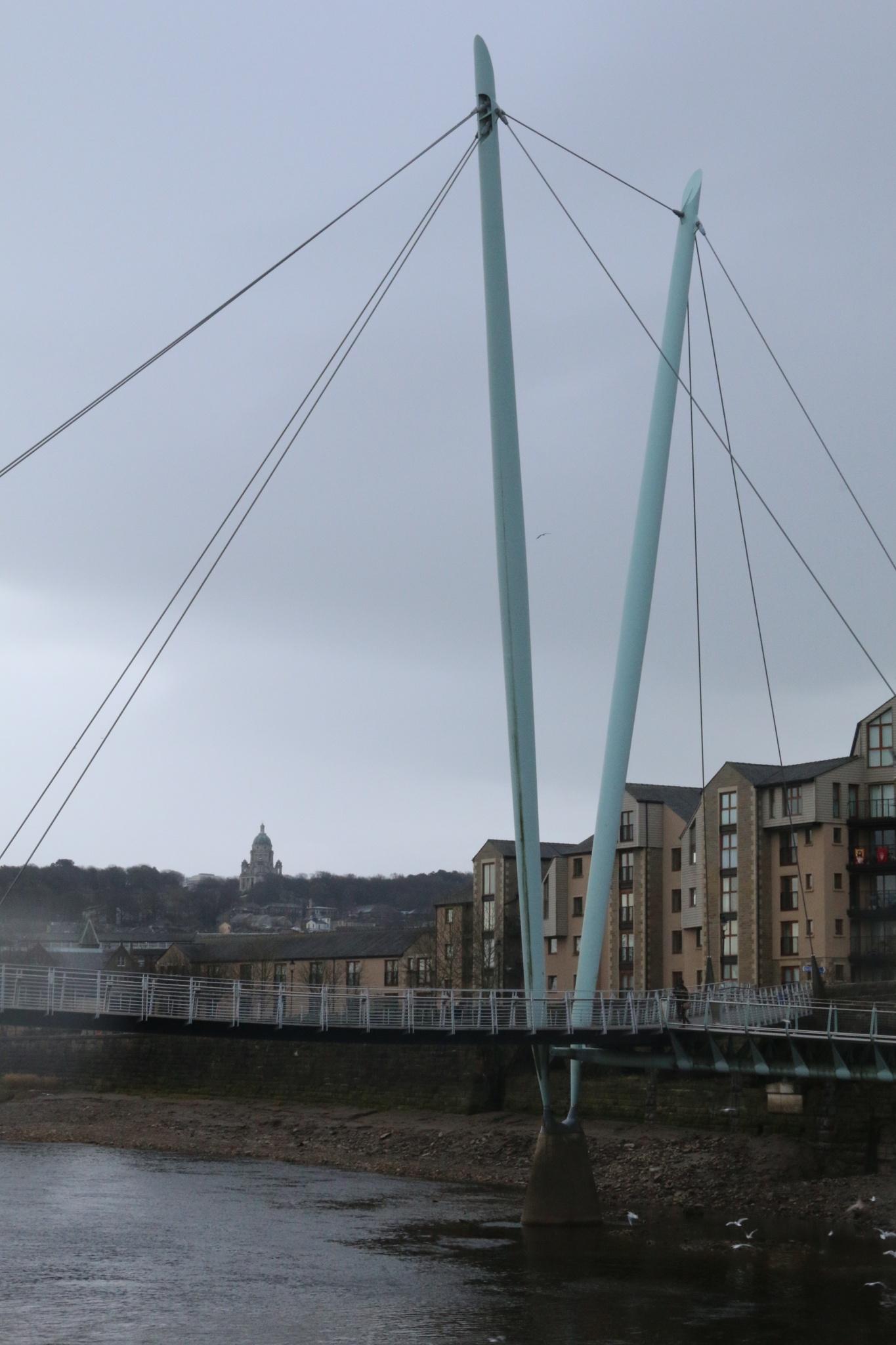 Lune Millennium Bridge, Lancaster by Kevhyde