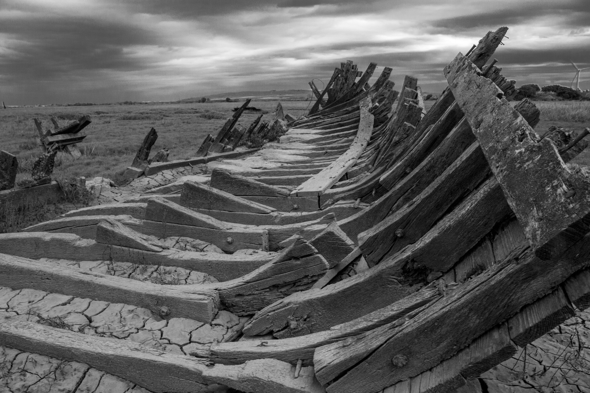 Ship carcass by Kevhyde