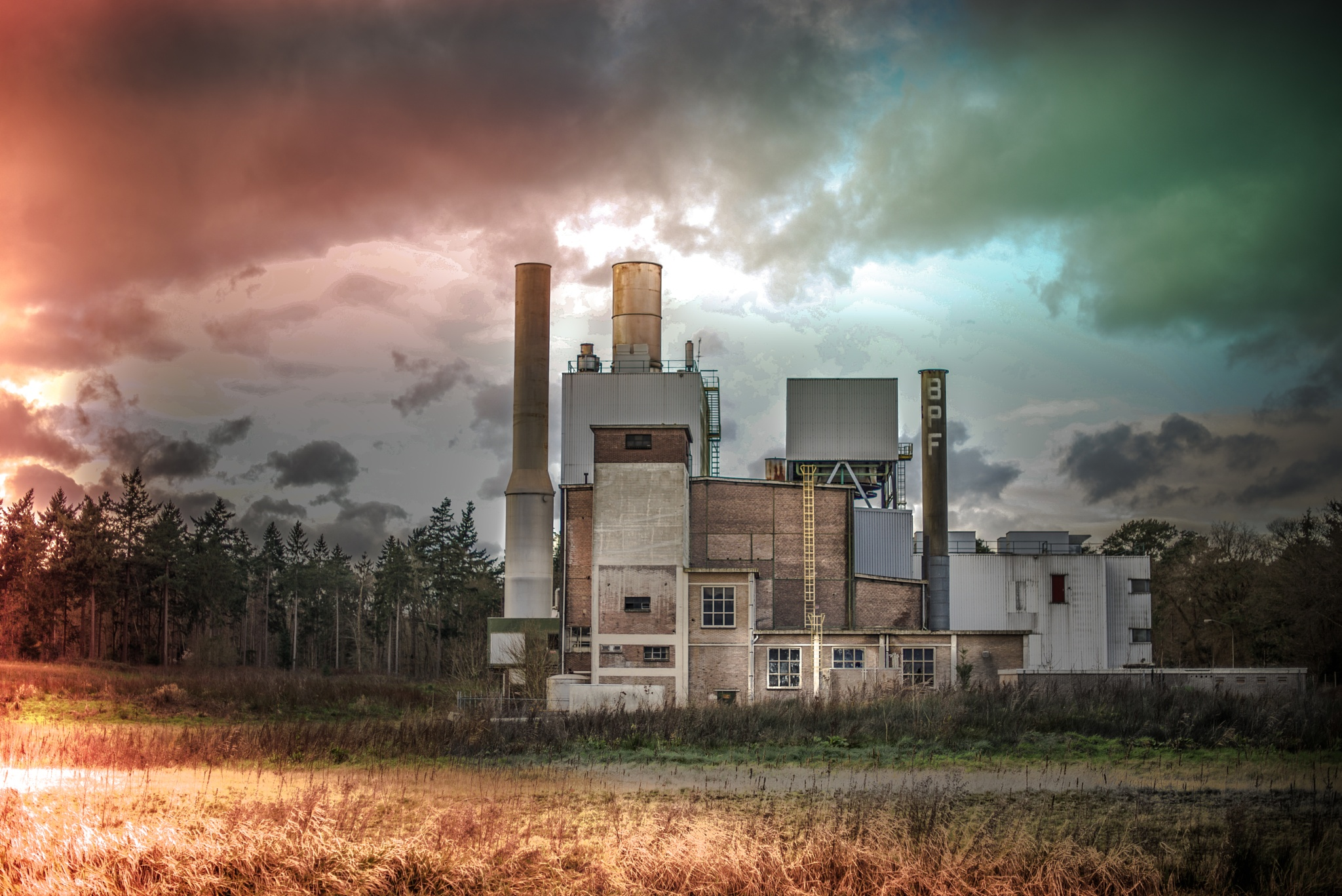 The Old Factory by Mirjam Slotman-Martin