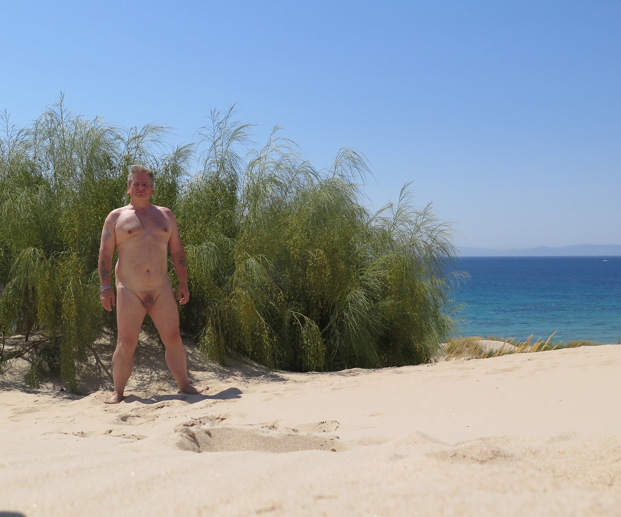 At the naturist beach by SteveR