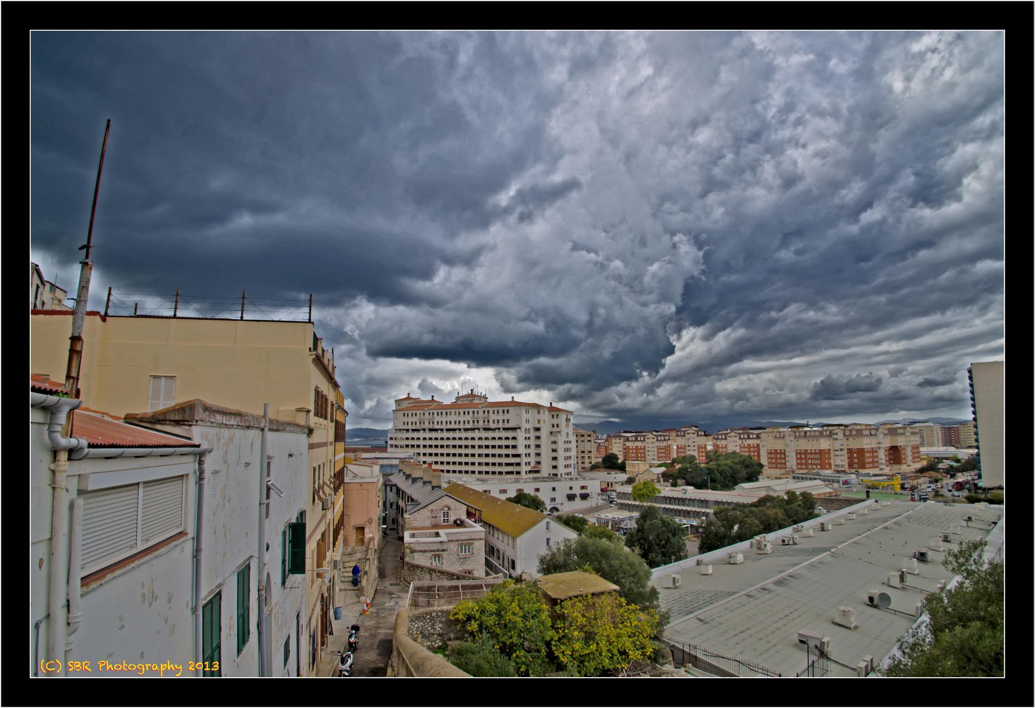 Stormy Sky by SteveR