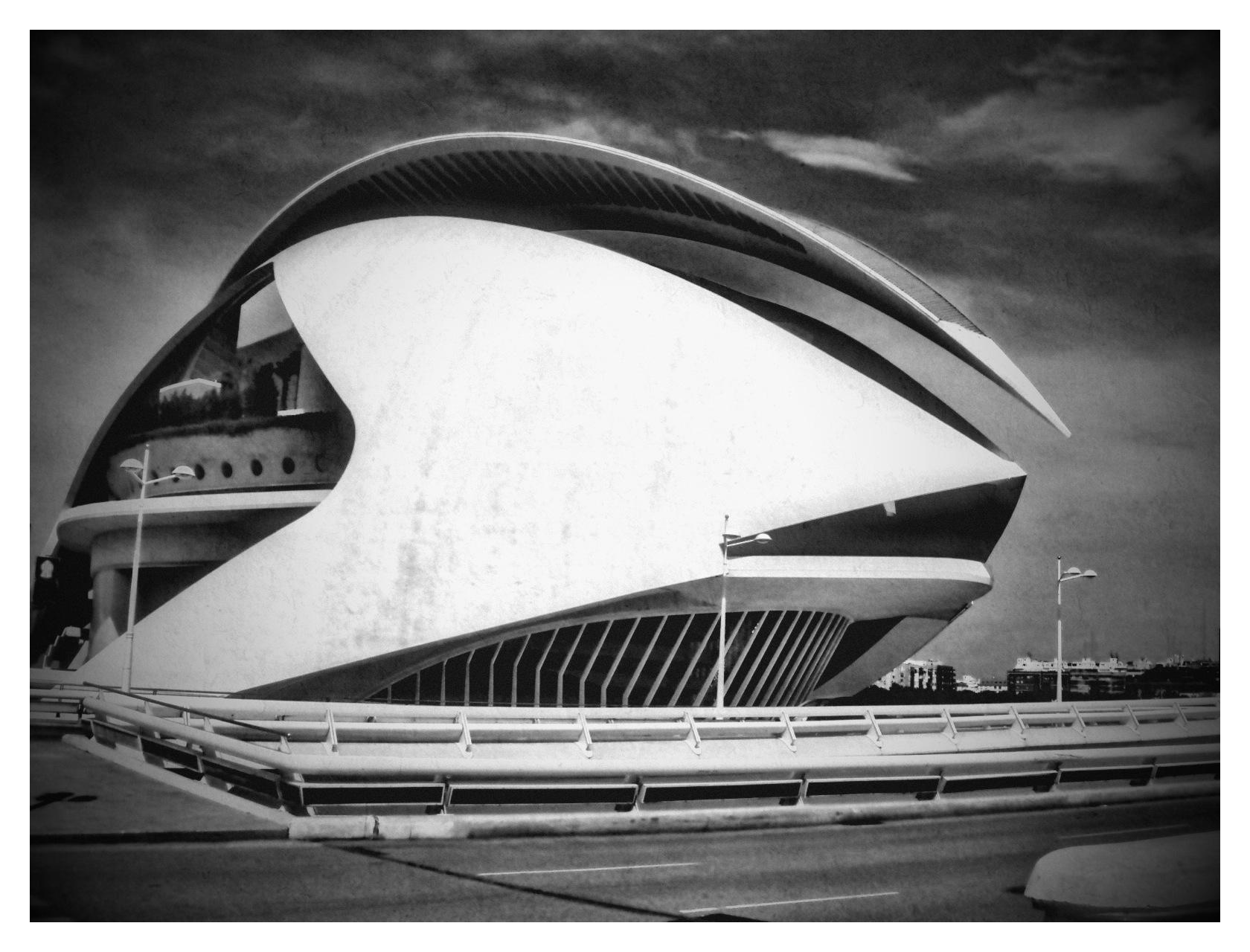 The Valencia Opera House by SteveR