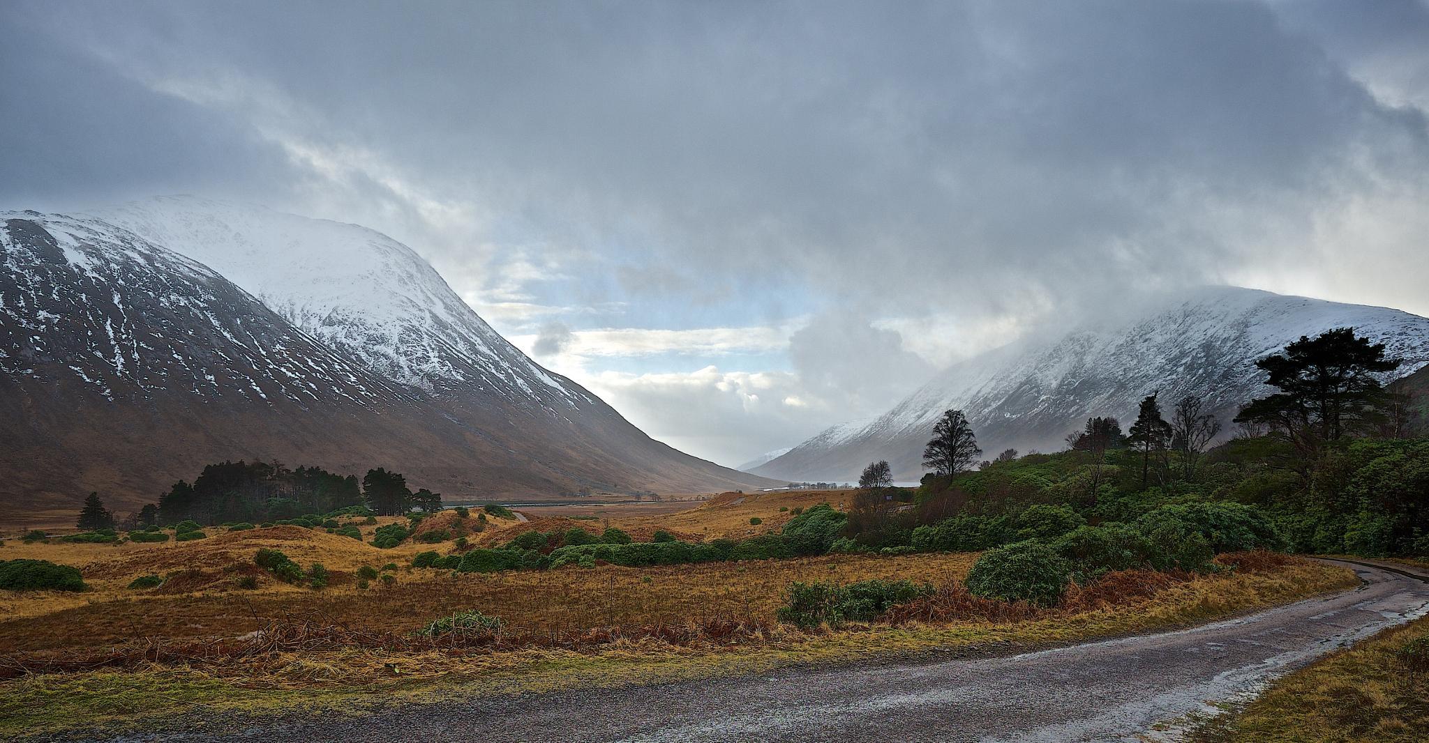 Looking Towards Loch Etive by dundeedavie