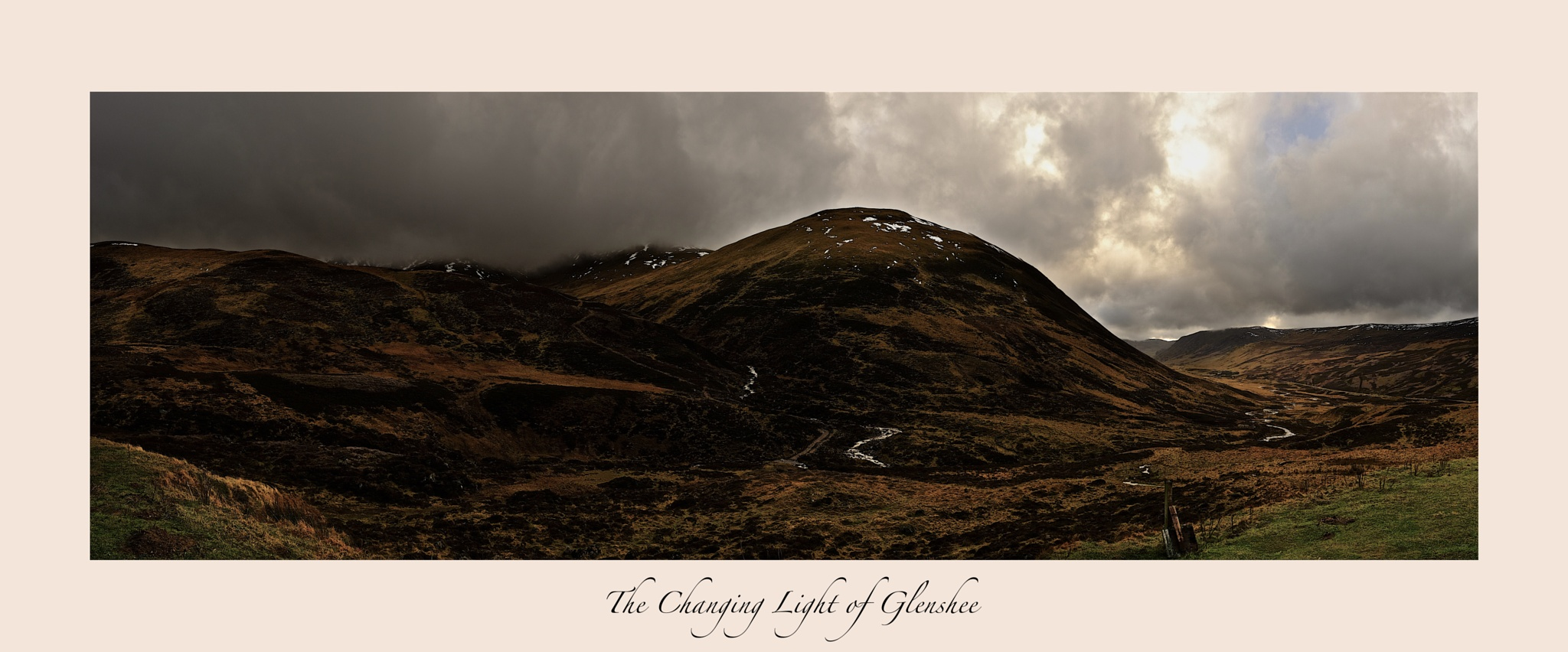 The Changing light of Glenshee by dundeedavie