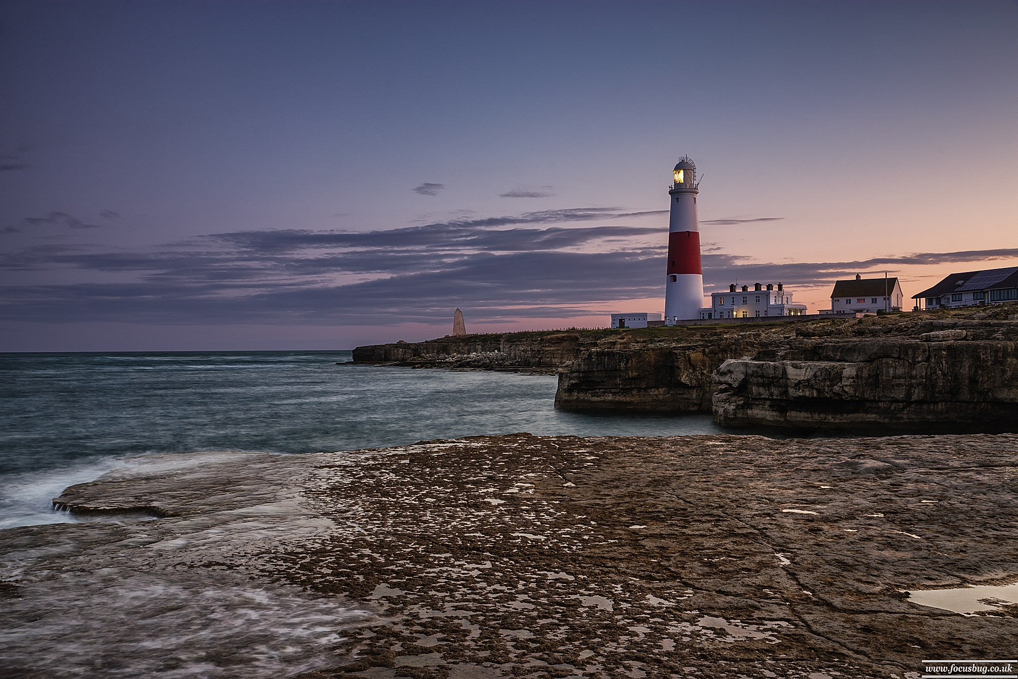 The lighthouse of Portland Bill by DuncanArnold
