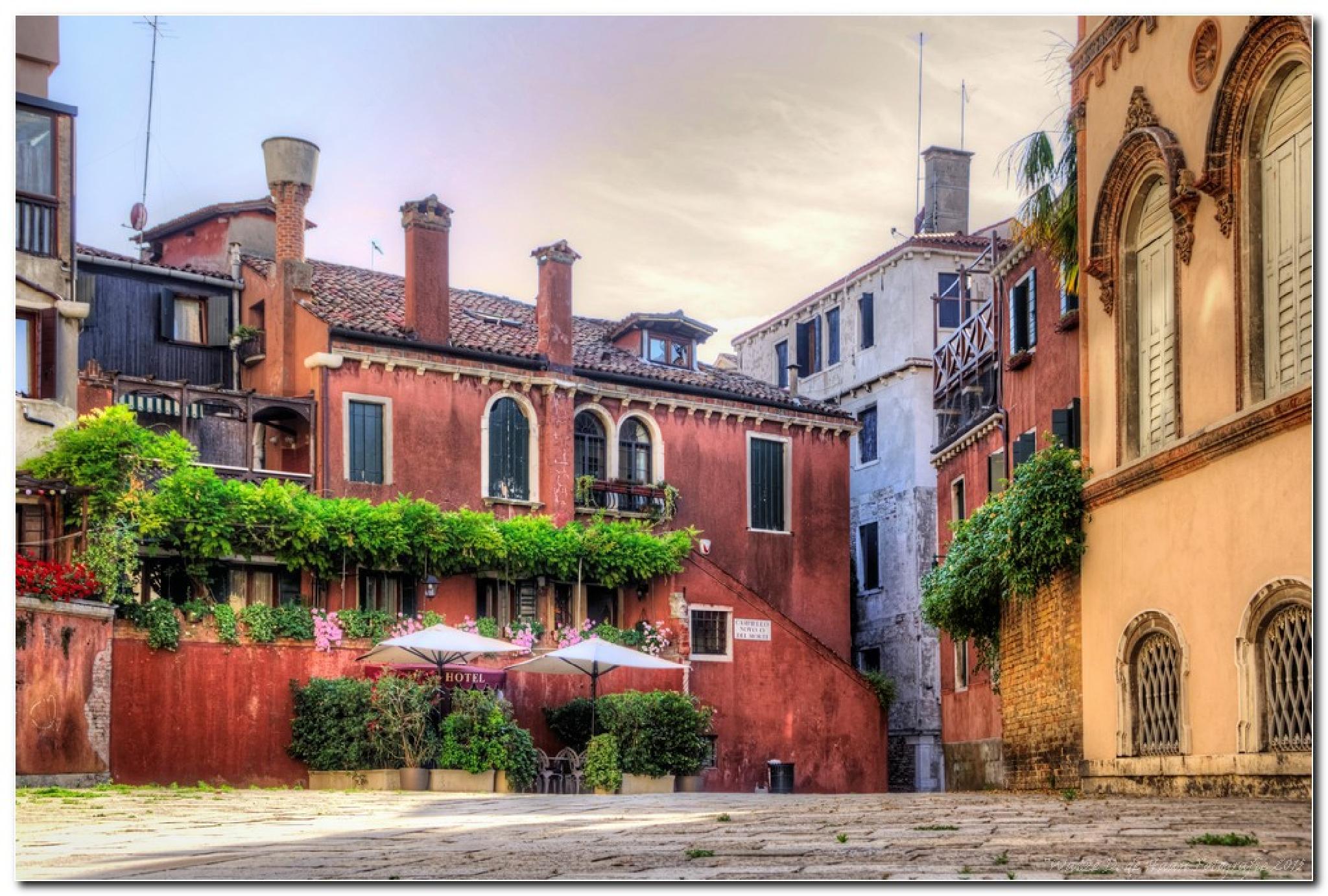 Venetië Italië  by Watze D. de Haan
