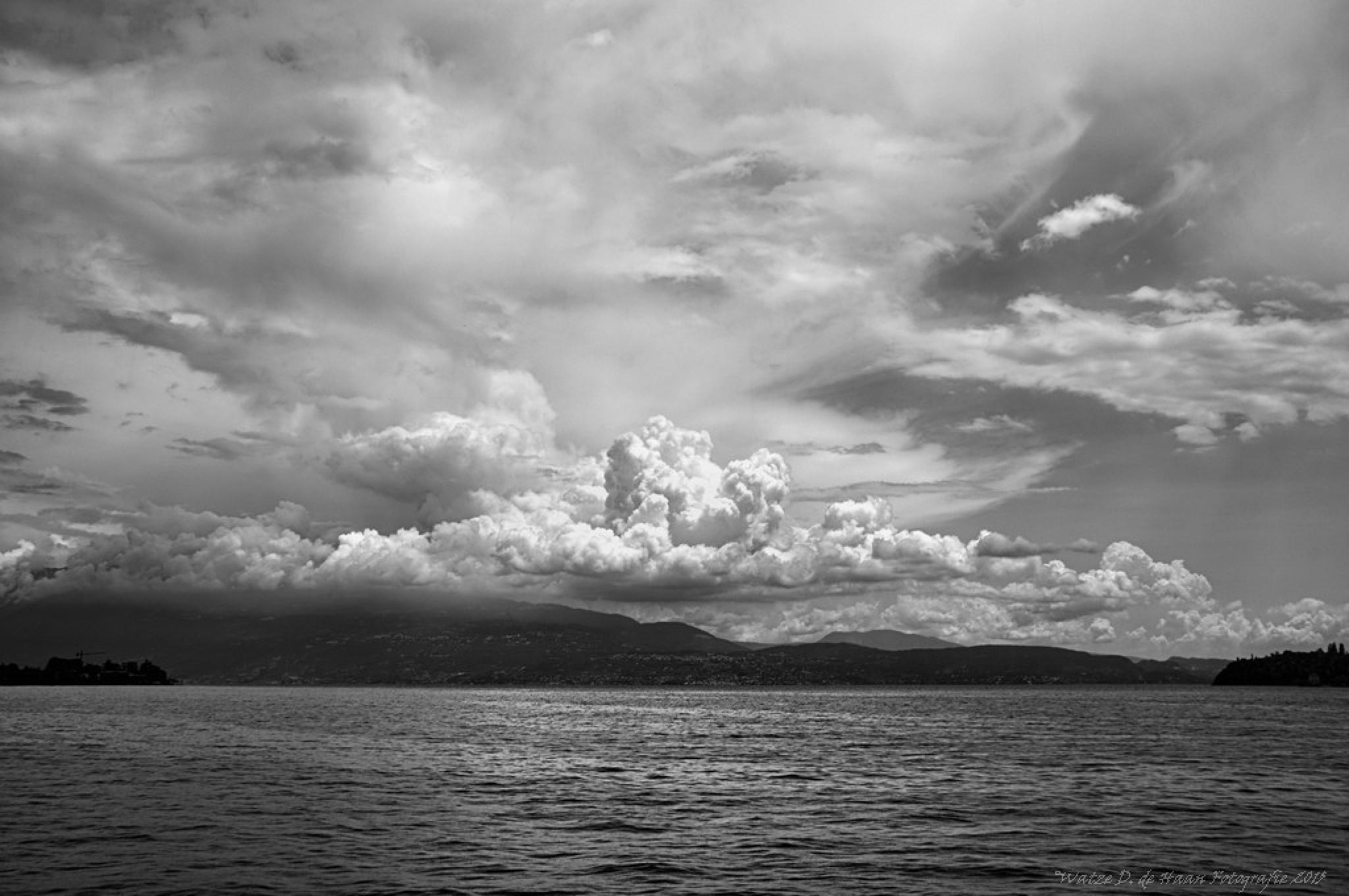 Lake Garda Italy VIII by Watze D. de Haan