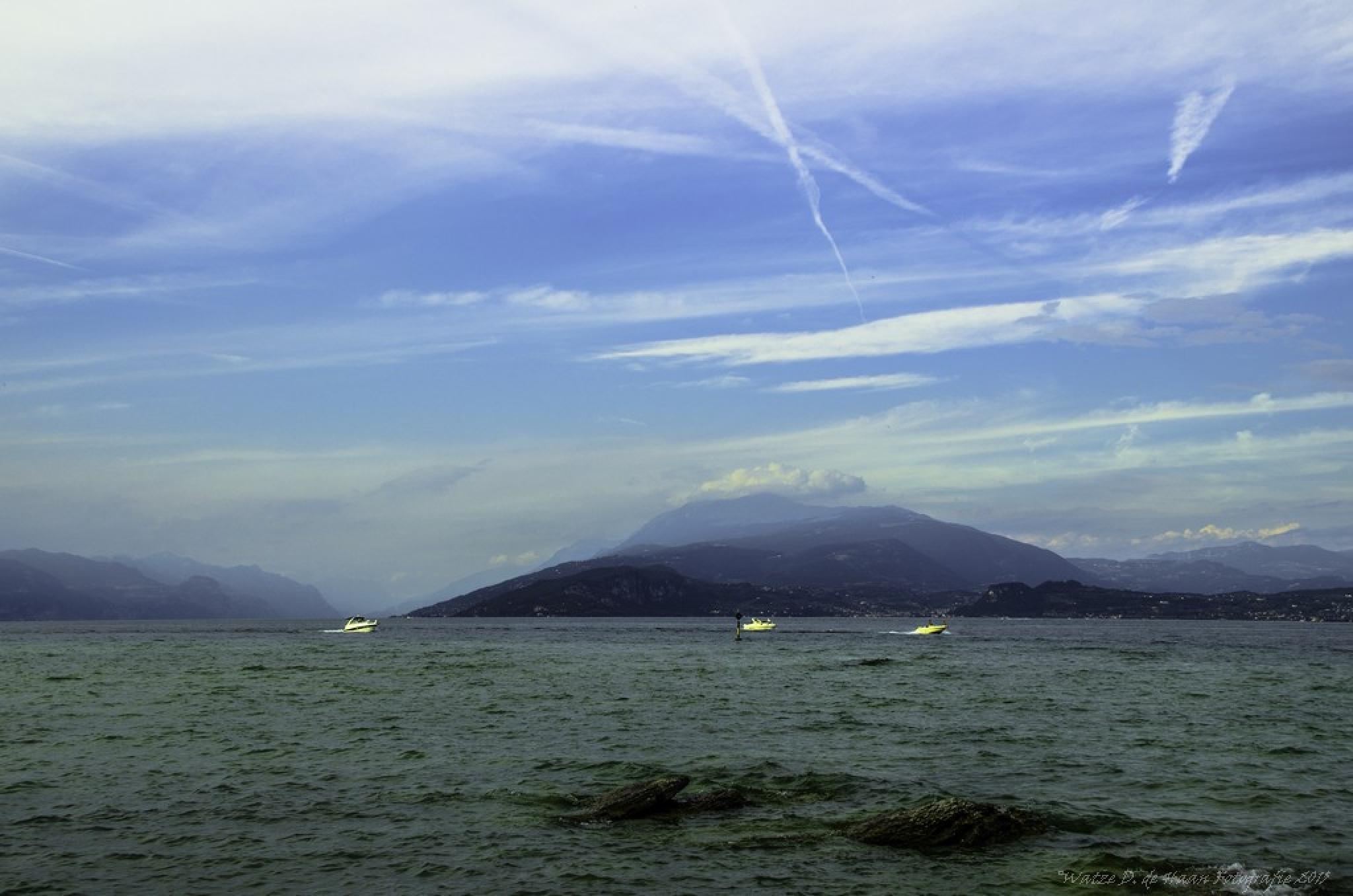Lake Garda Italy  by Watze D. de Haan