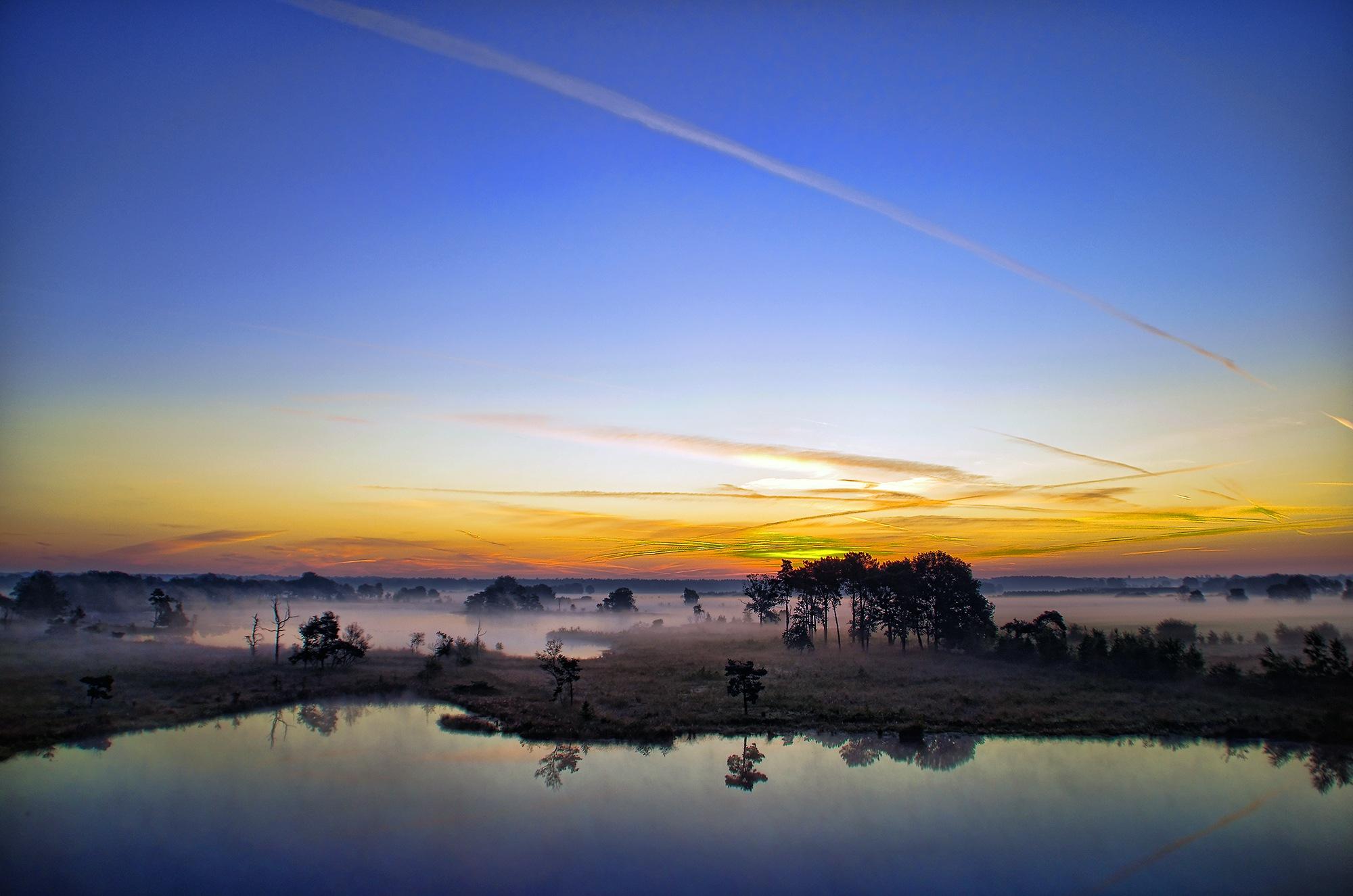 Colors in the morning XXI by Watze D. de Haan