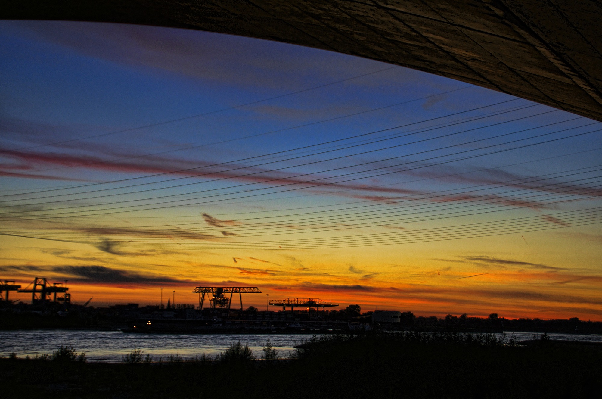 Under the bridge by Watze D. de Haan