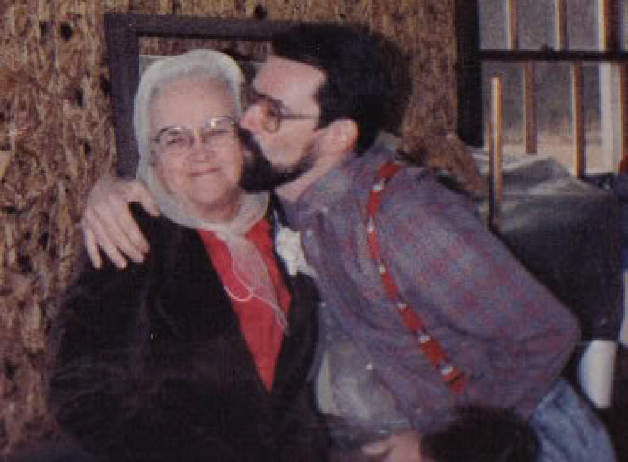 Grandma and Bruce by sandragarris27