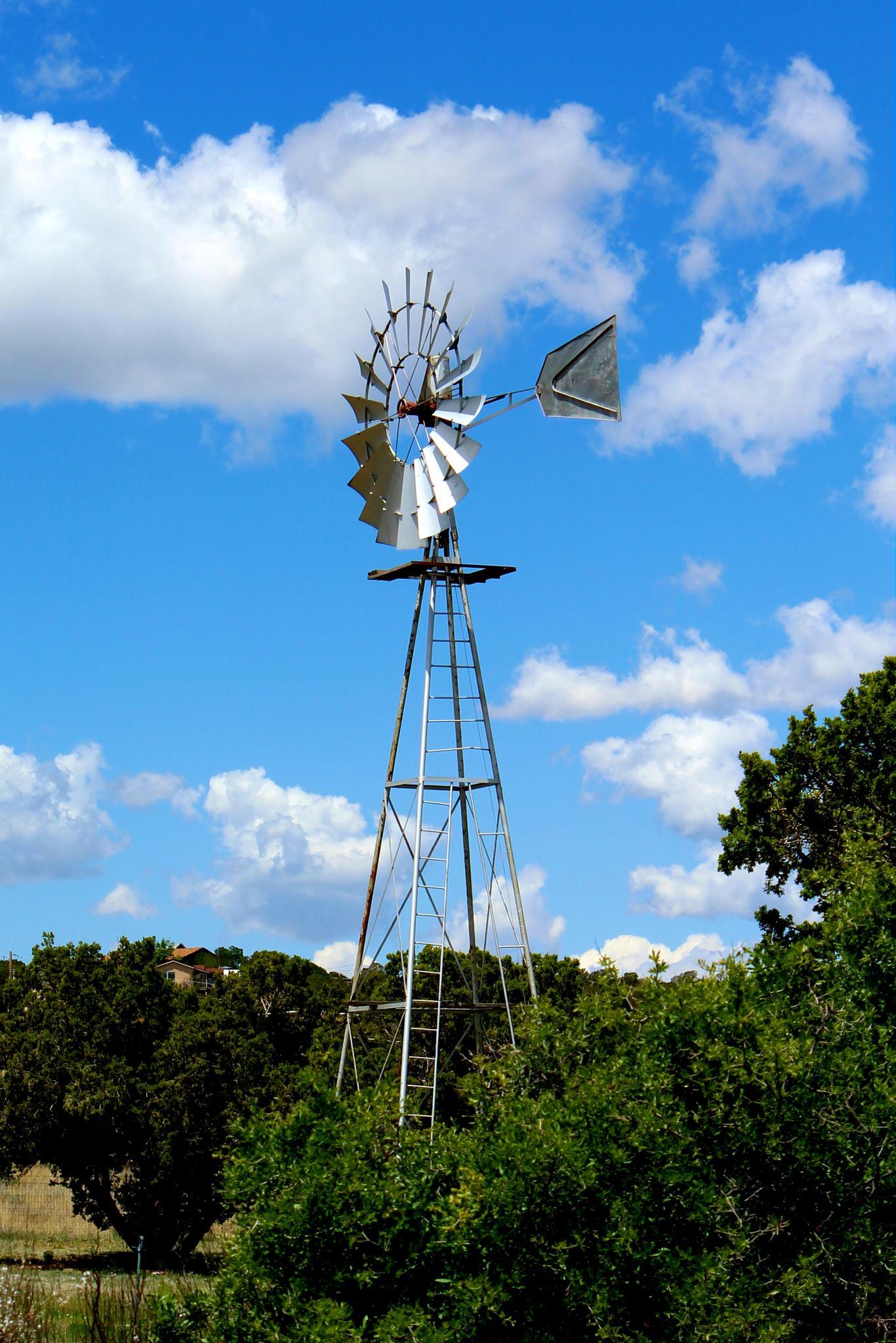 Windmill by Lucretia Bittner