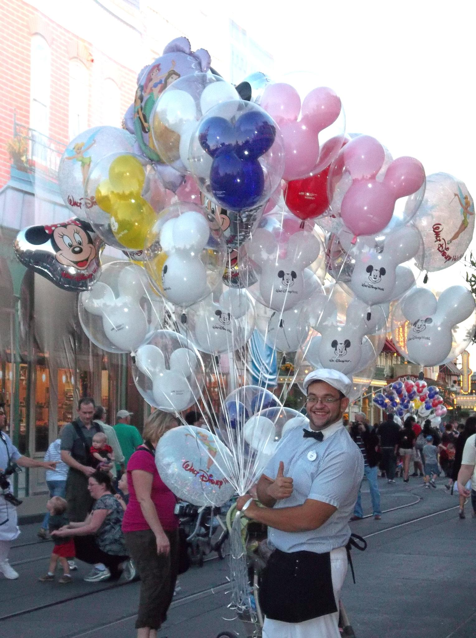 Balloons anyone? by Julie