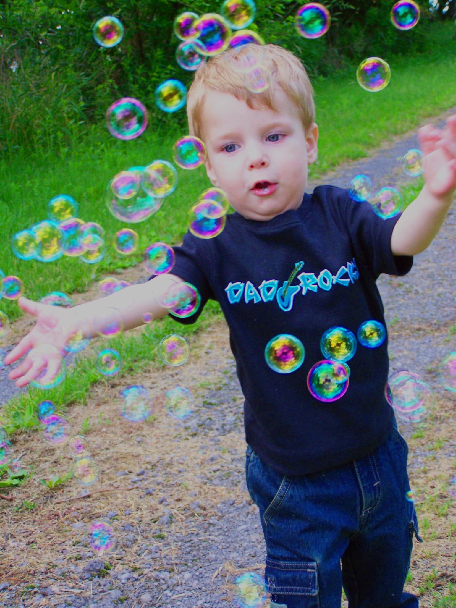 Bubble Fun by Julie