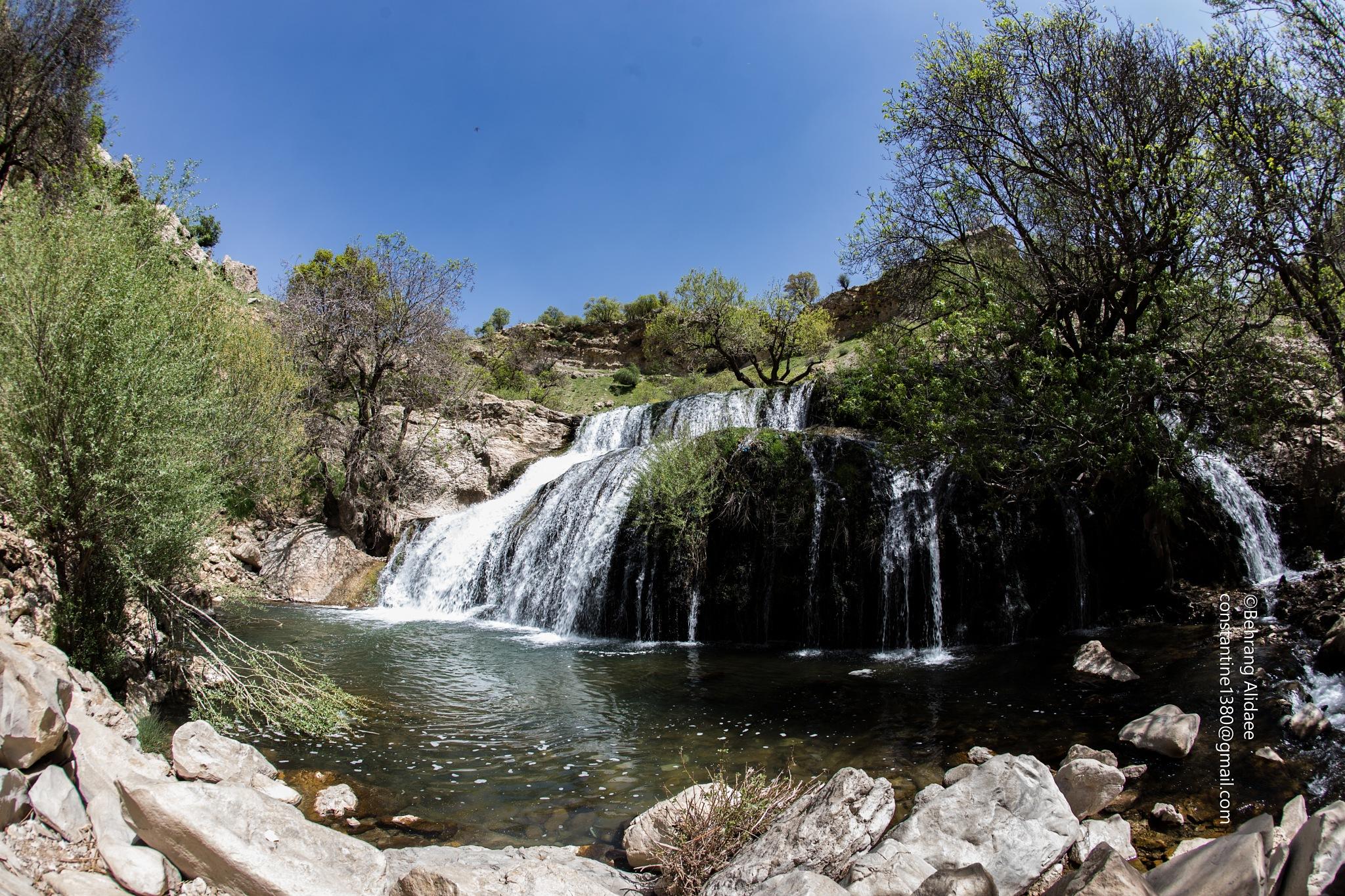 Gritt Water Fall by Behrang Alidaee
