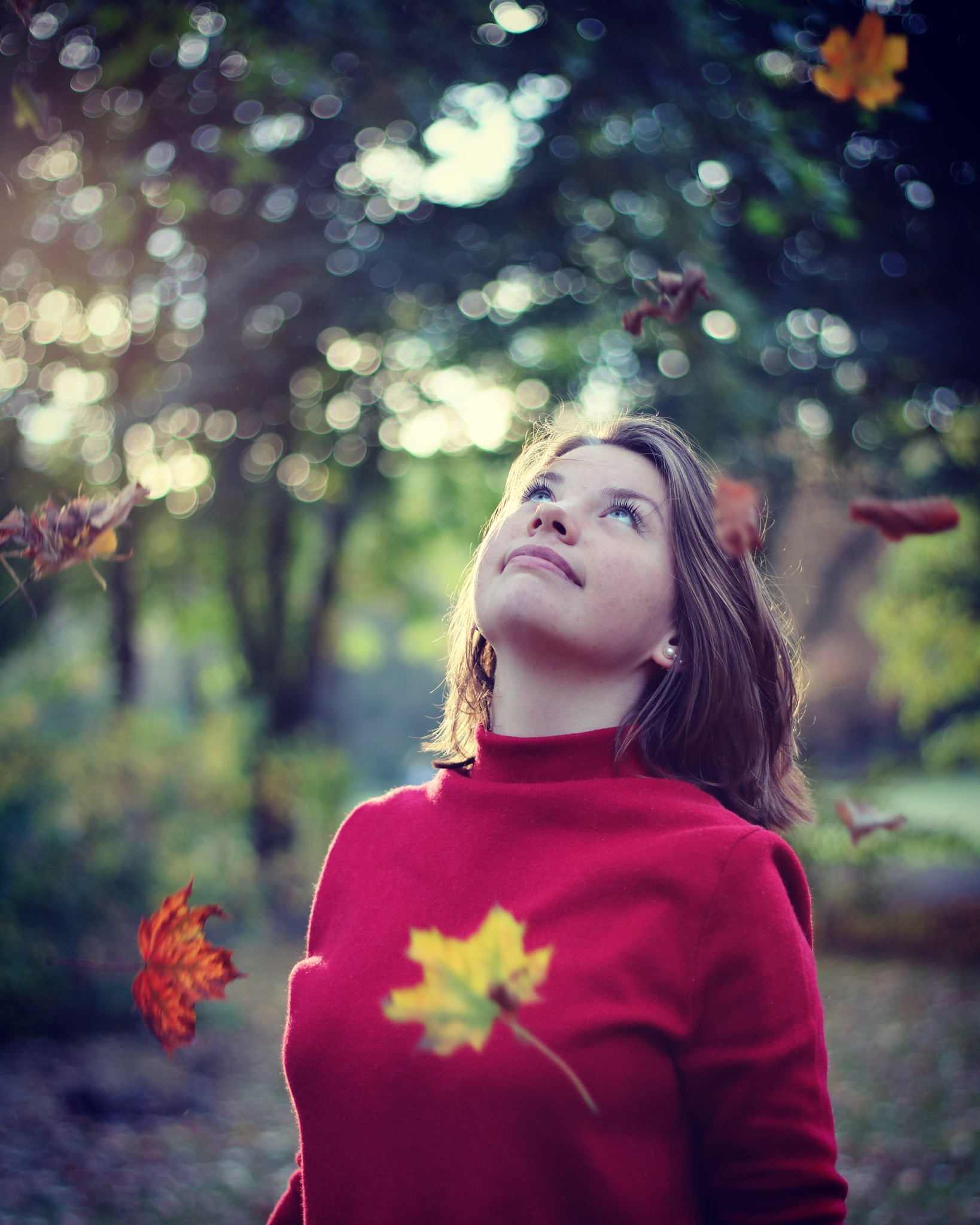 lovely moments in autumn by Conny Mi