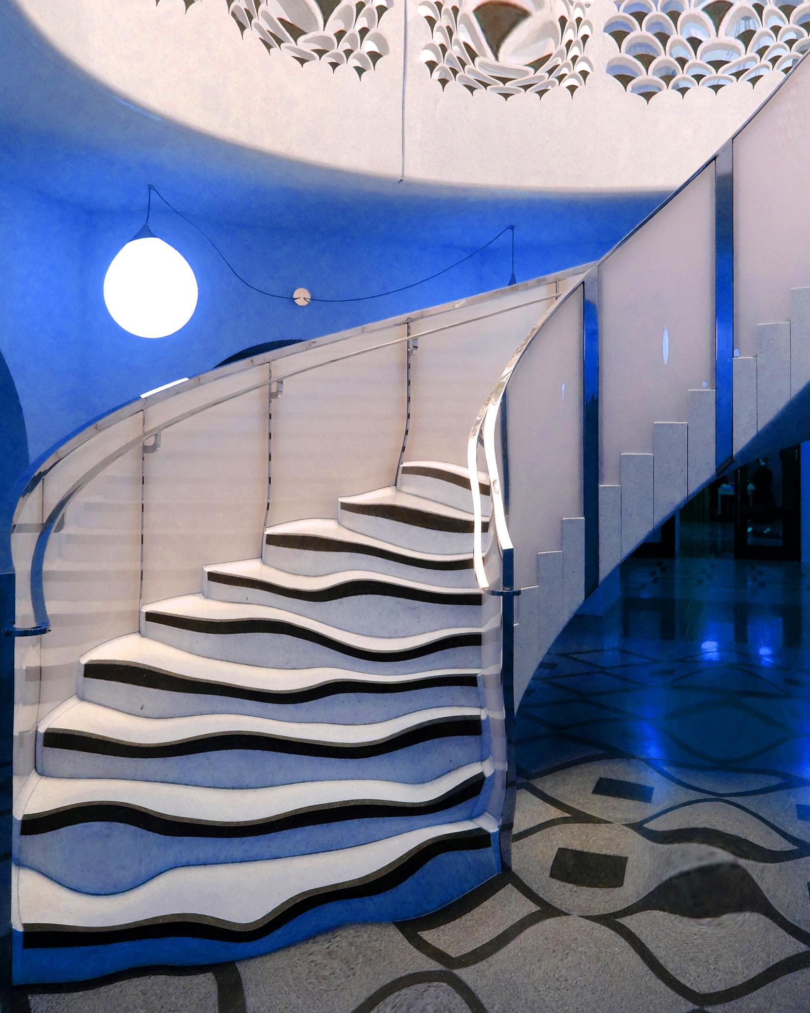 Liquid stairs by Mike Morton