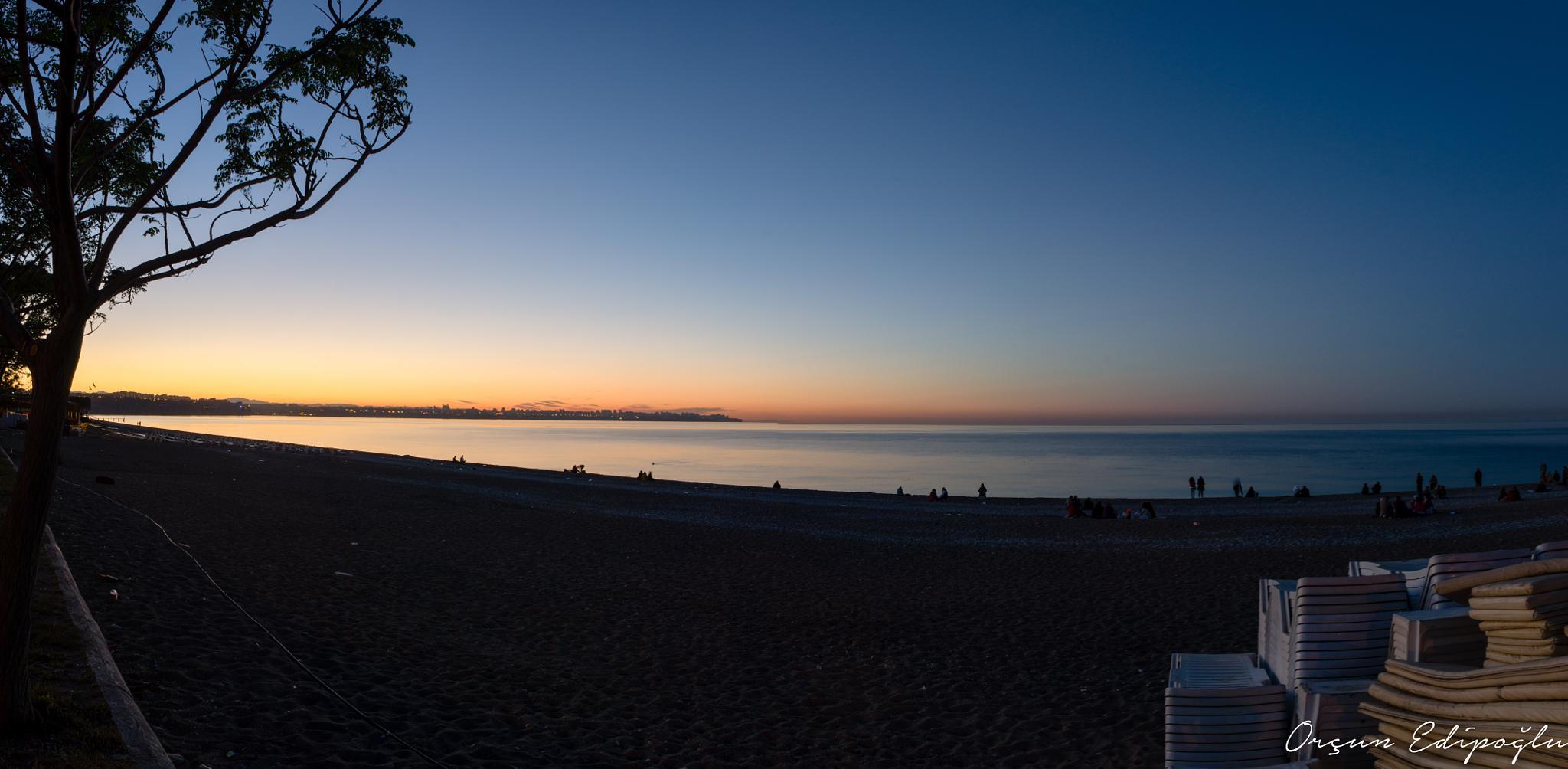 Konyaaltı Sunrise by orcun edipoglu
