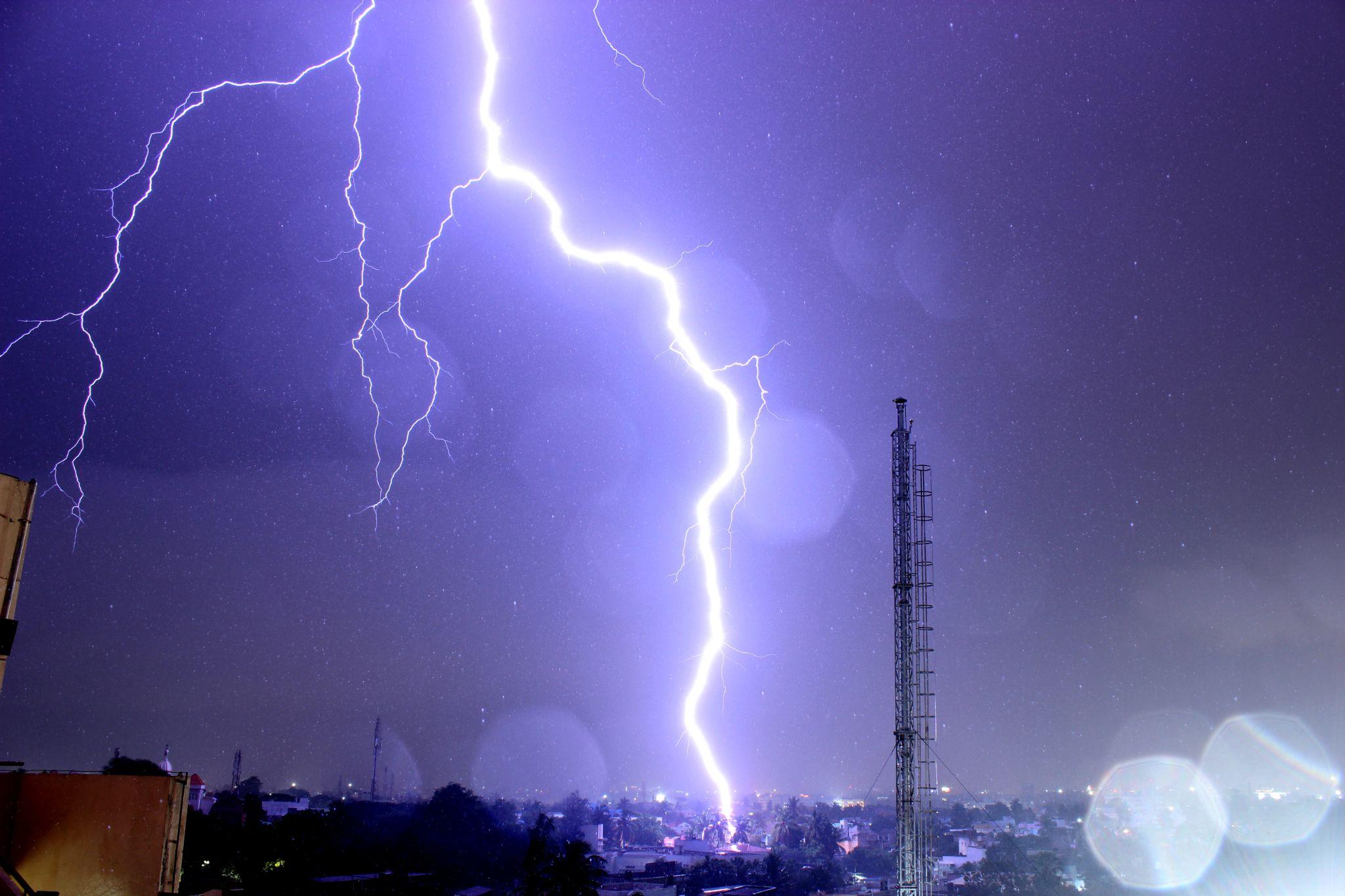 The monster lightning by Karthik Easvur