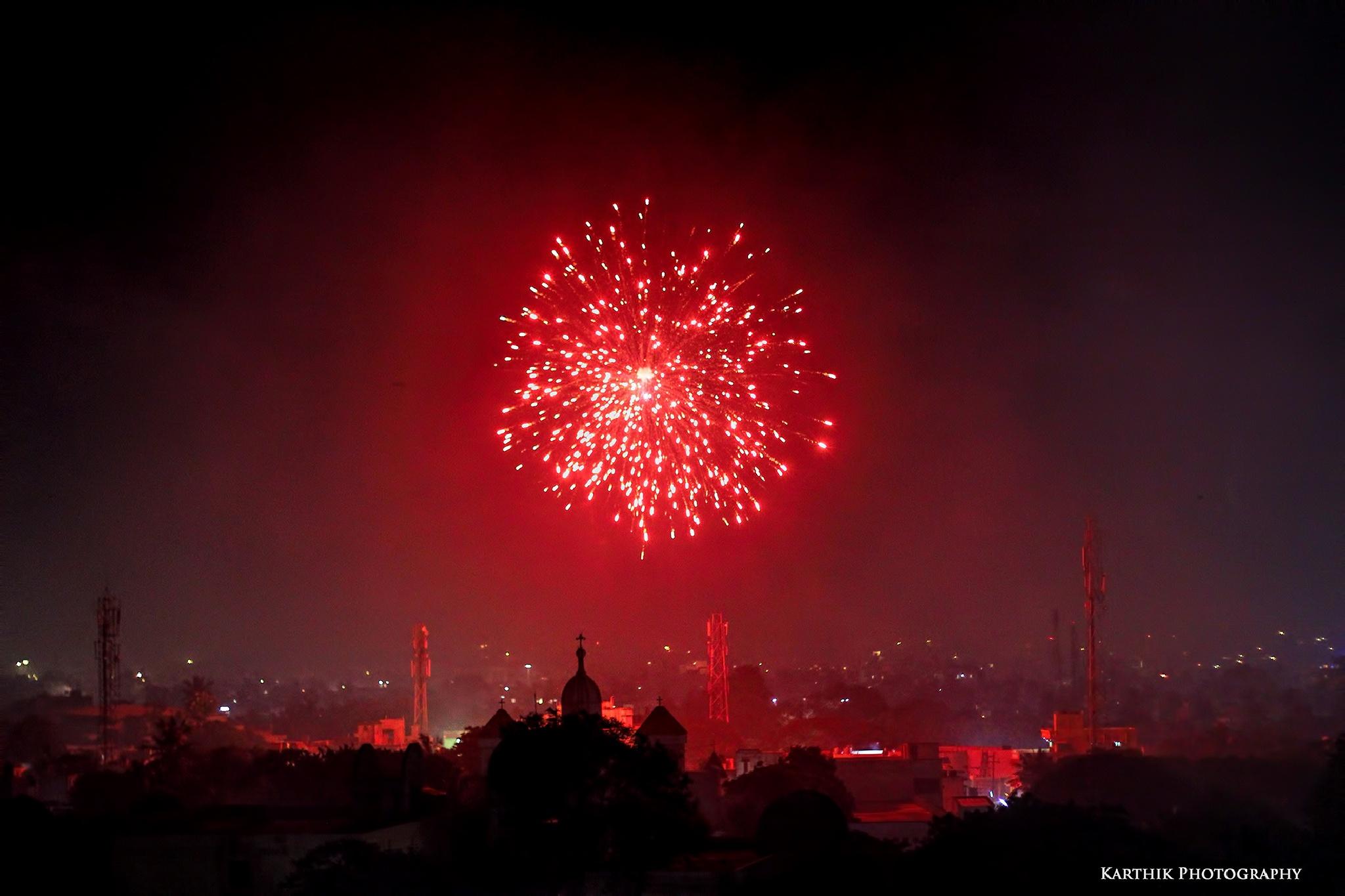 Fireworks by Karthik Easvur