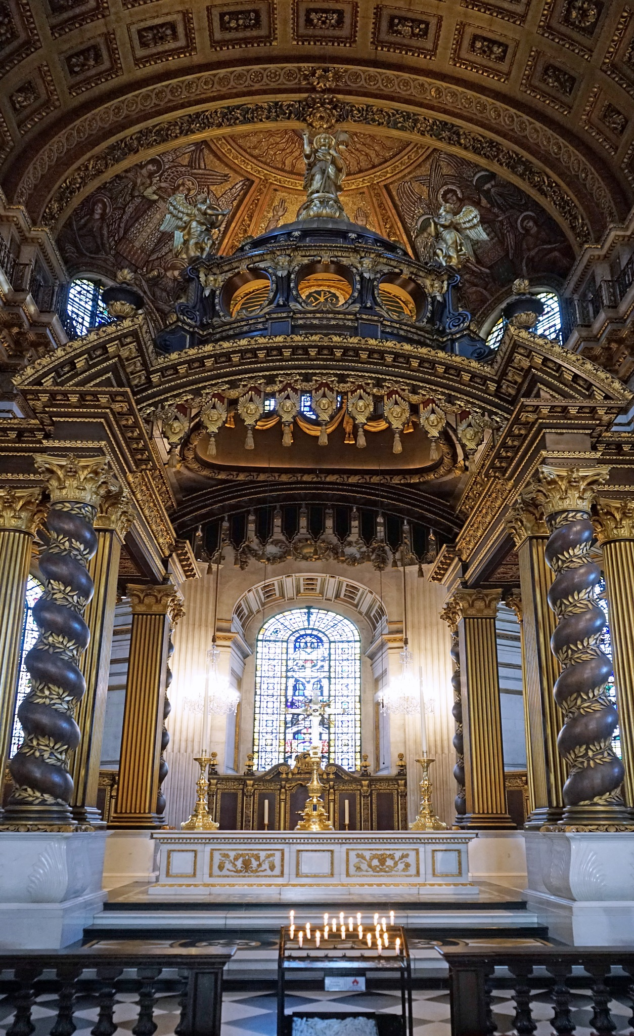 High Altar St Paul's Cathedral London by Steven Best