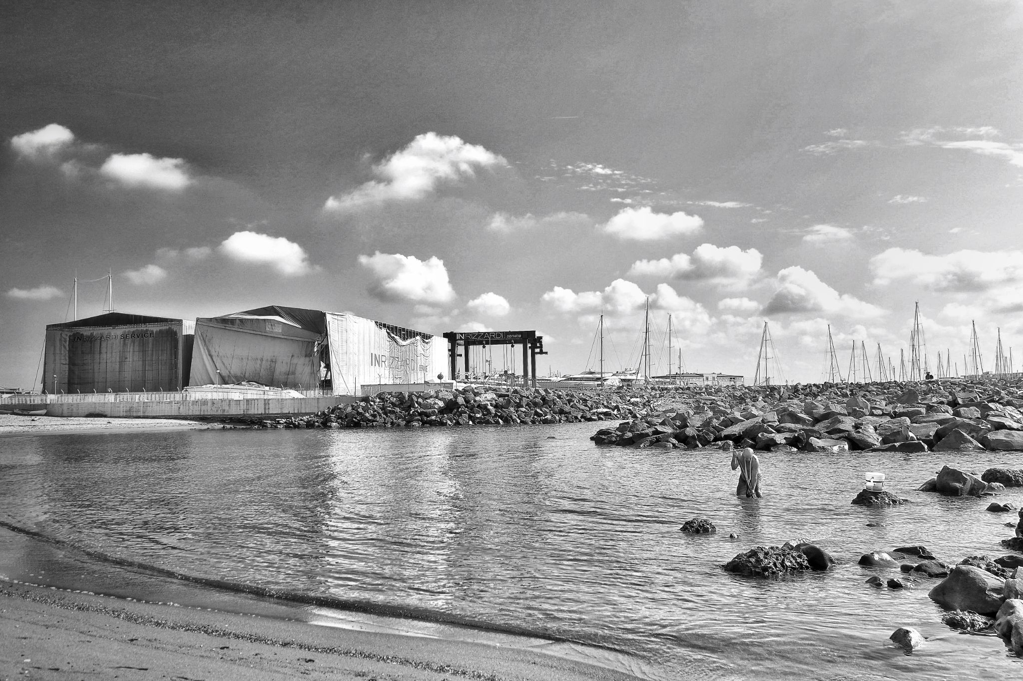 Ostia Harbour by Bruno Conte