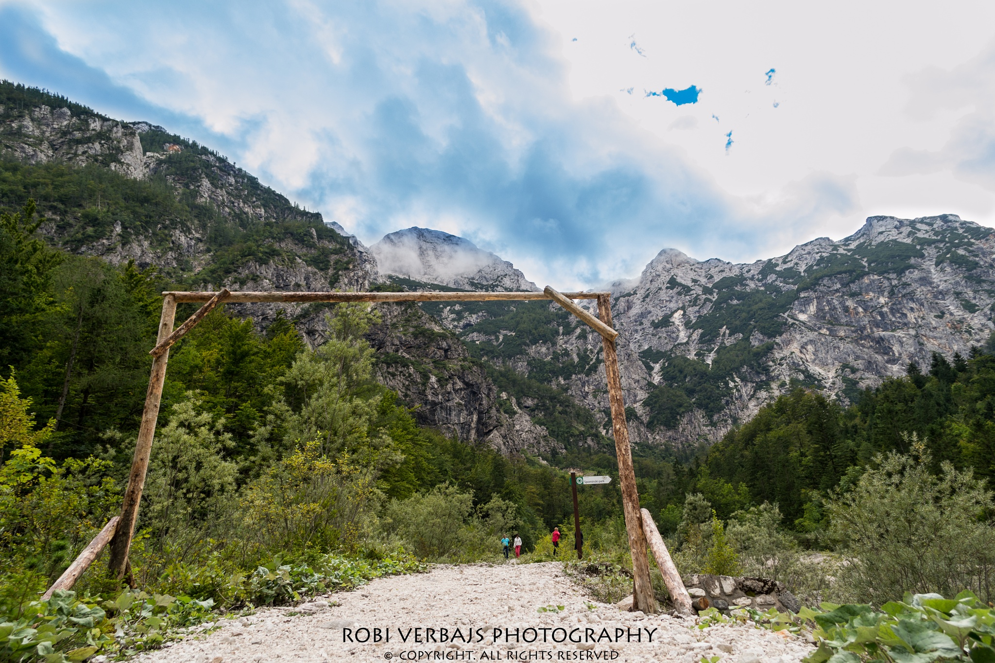 Input in mountains / Vhod v gore by Robi Verbajs Photography