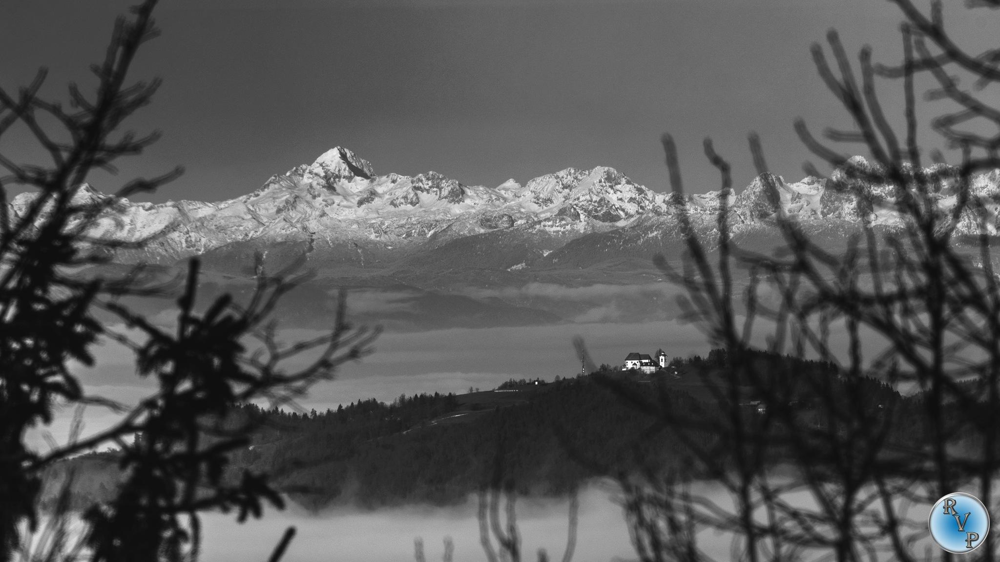 View to Triglav by Robi Verbajs Photography