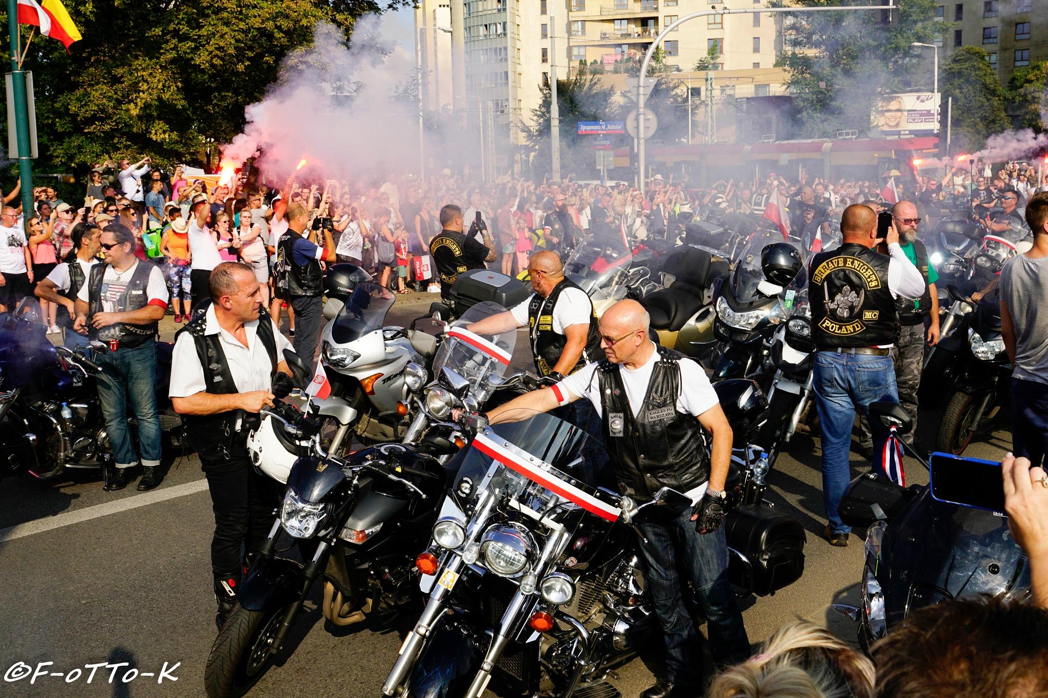 Warszawscy motocykliści...1 by Karol