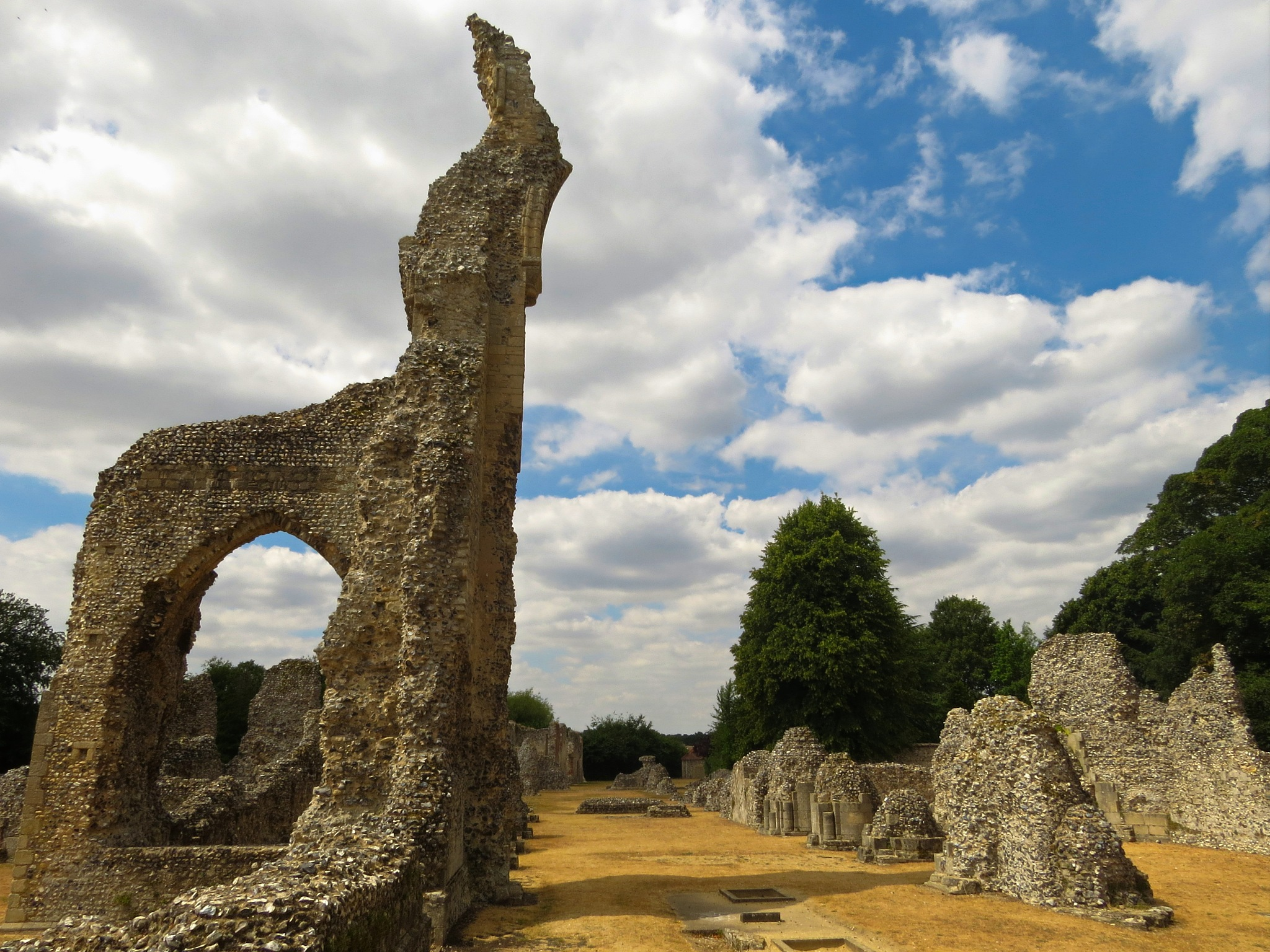 Thetford Priory Remains. by June