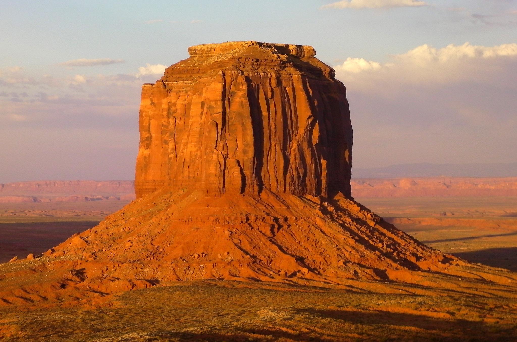 Merricks Butte at Sundown by Rita Simmonds