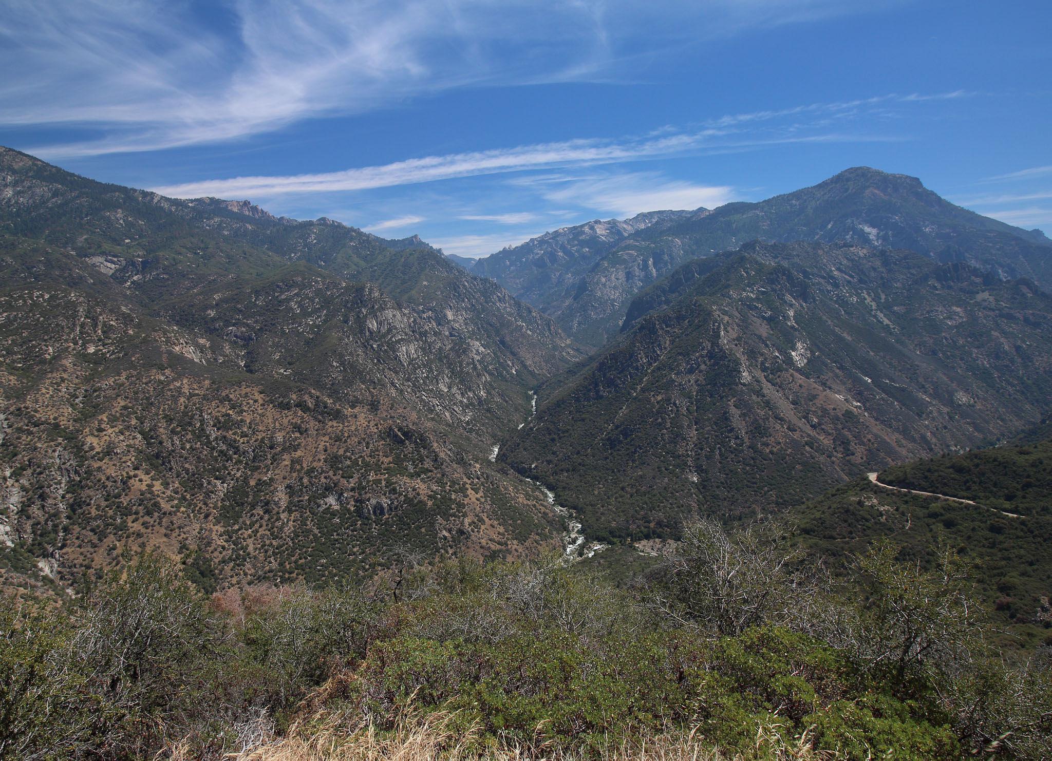 Looking Back at Kings Canyon by Rita Simmonds