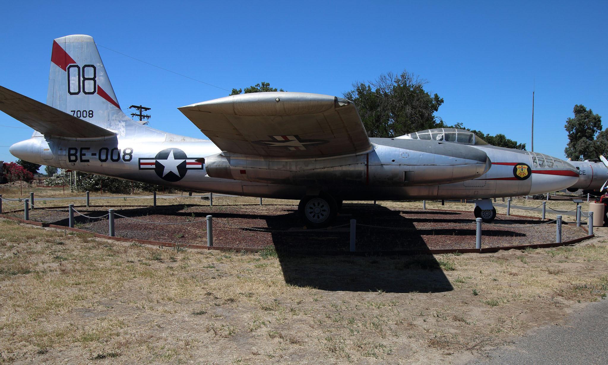 North American B-45 Tornado by Rita Simmonds
