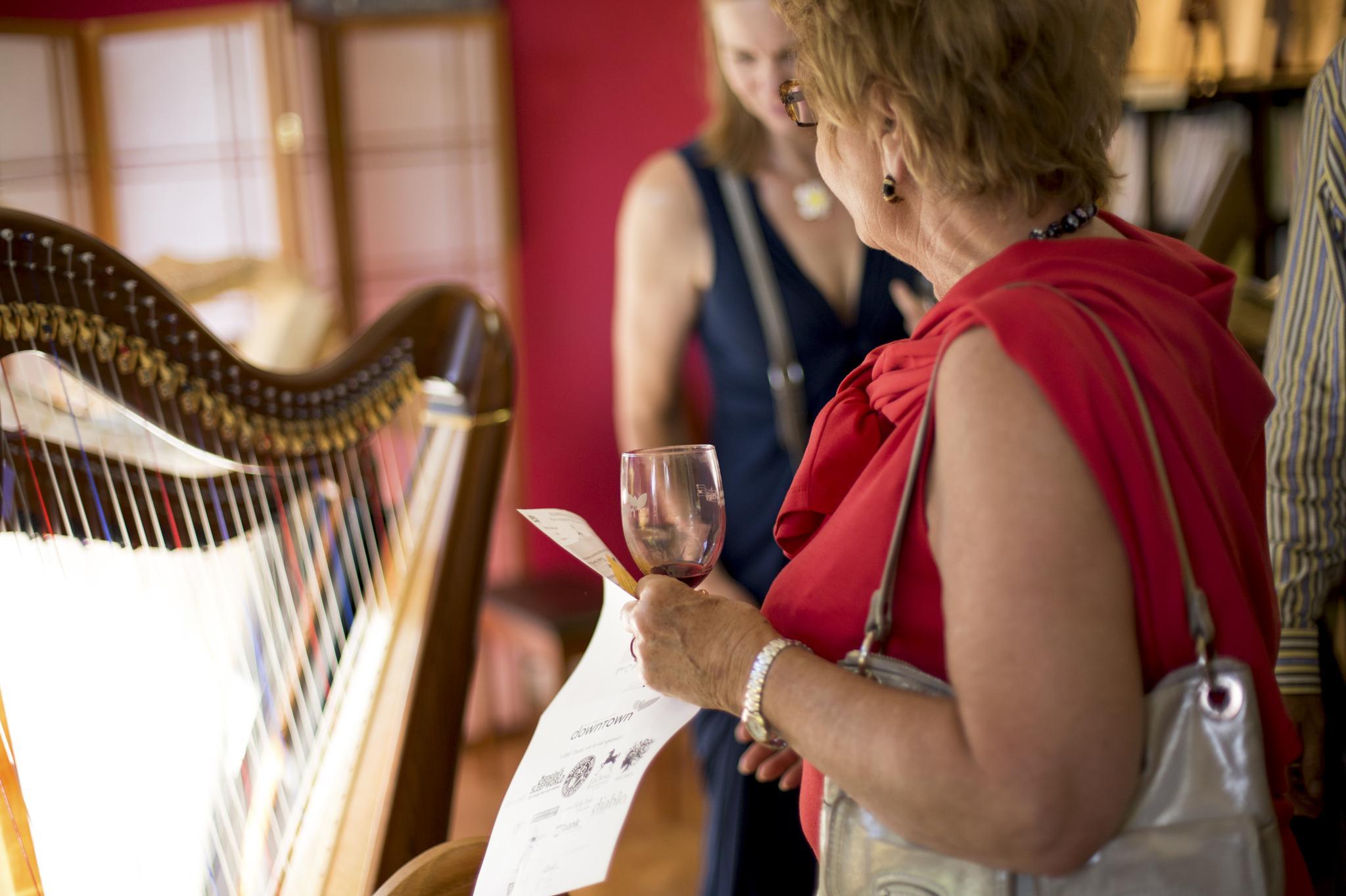 Harps by Kyle Luman