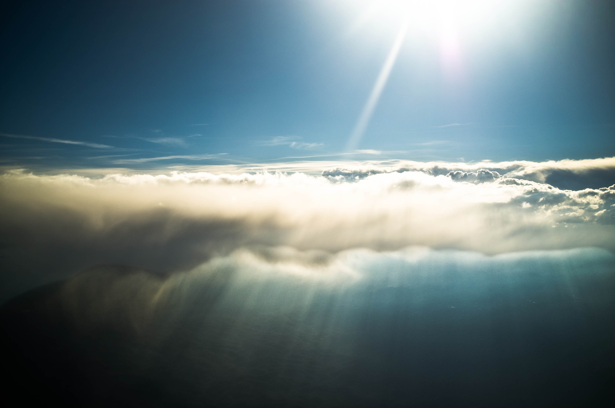 Above and below the clouds by Zeph