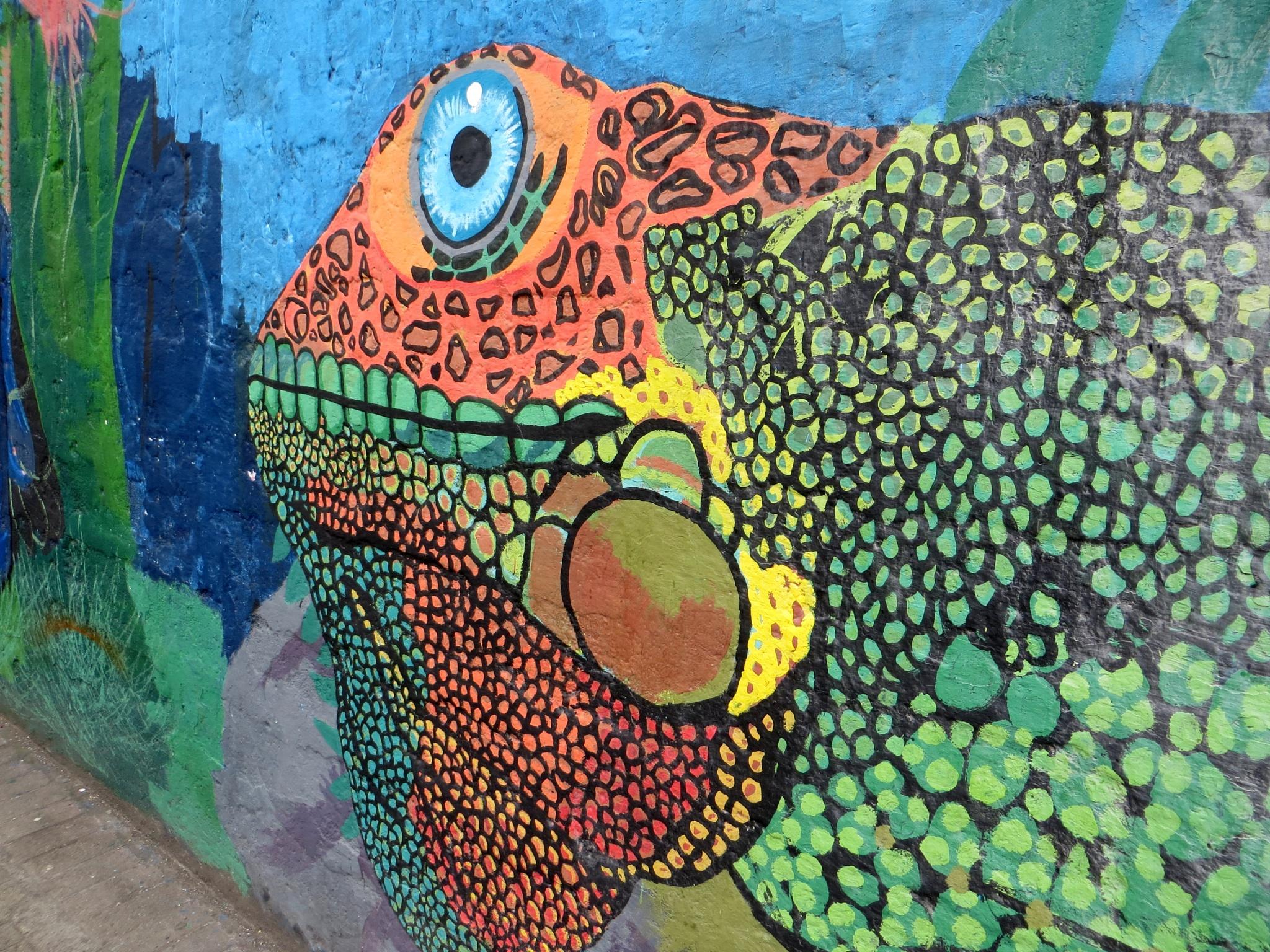 Ecuadorian Graffiti, Banos by #LuvToTravelWorld