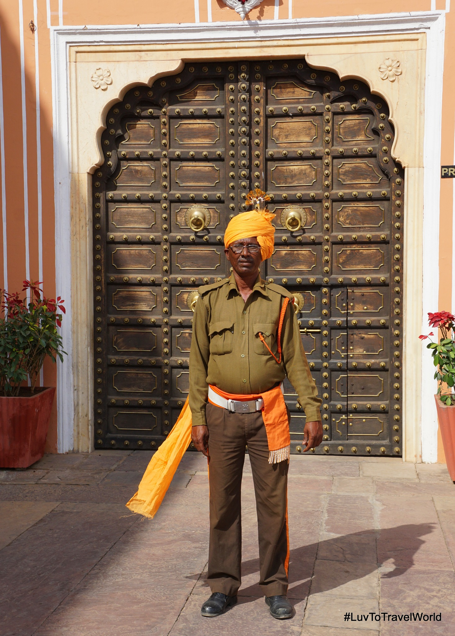 Palace Guard by #LuvToTravelWorld