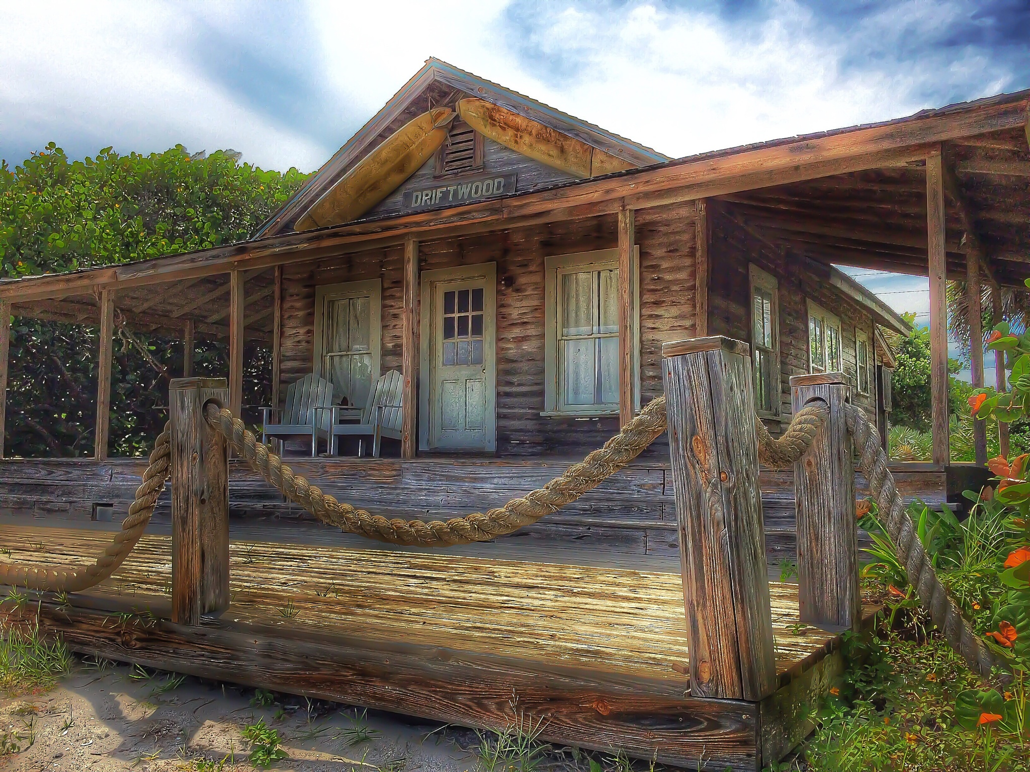 Driftwood cottage by Steve Falletti