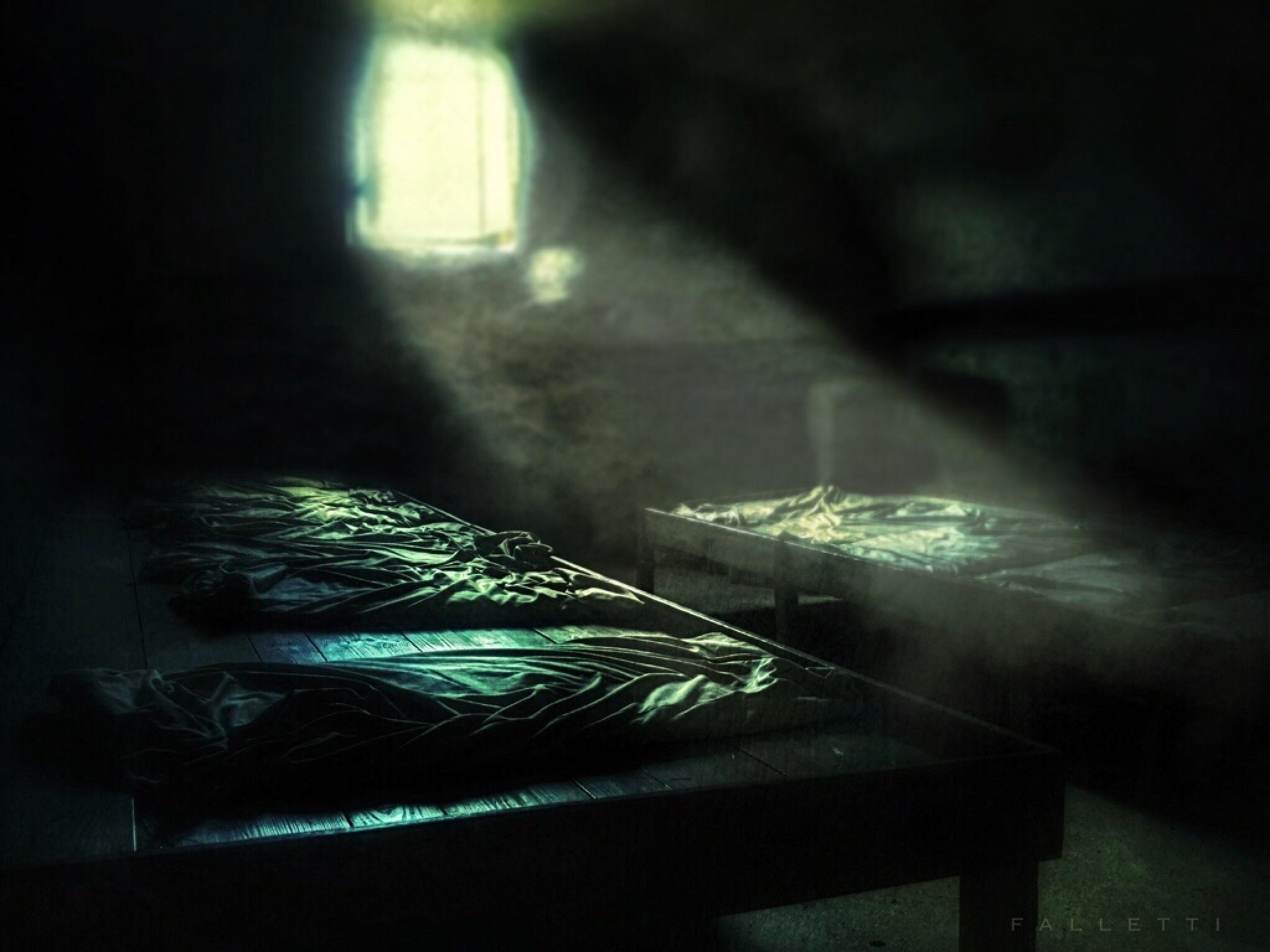 prison barracks by Steve Falletti