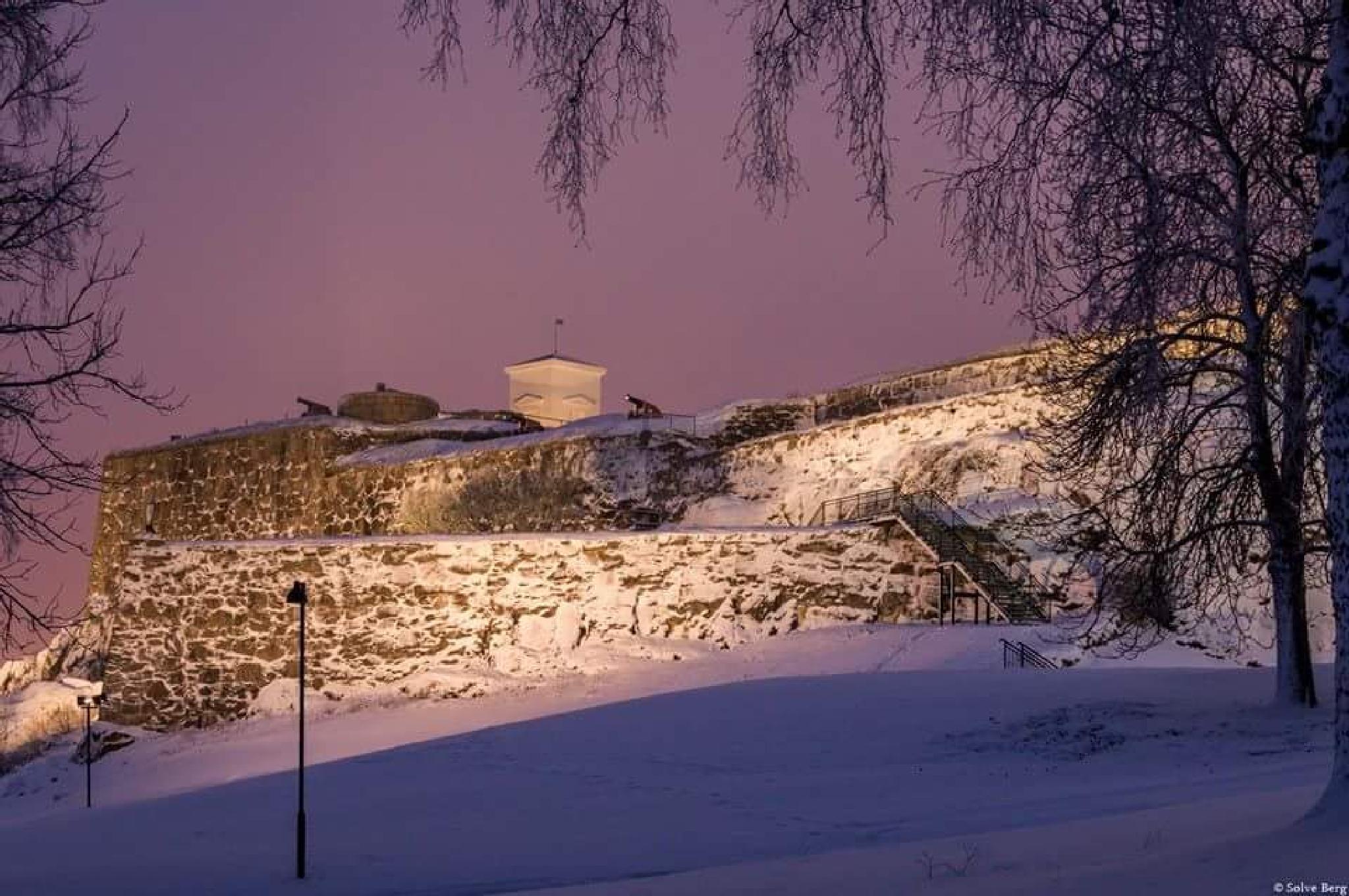 Fredriksten fortress  by lucky-silver