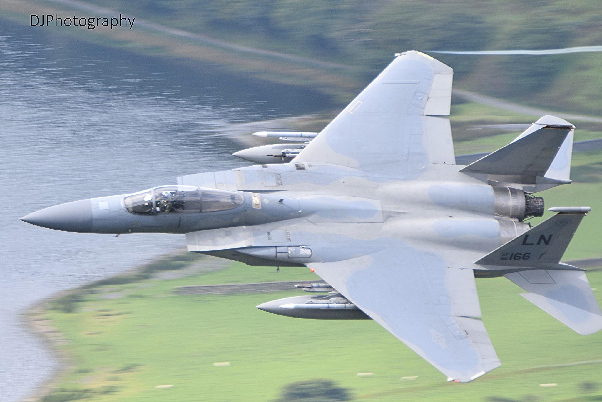 F15 over Tal y Llyn,North Wales by smudgesmat