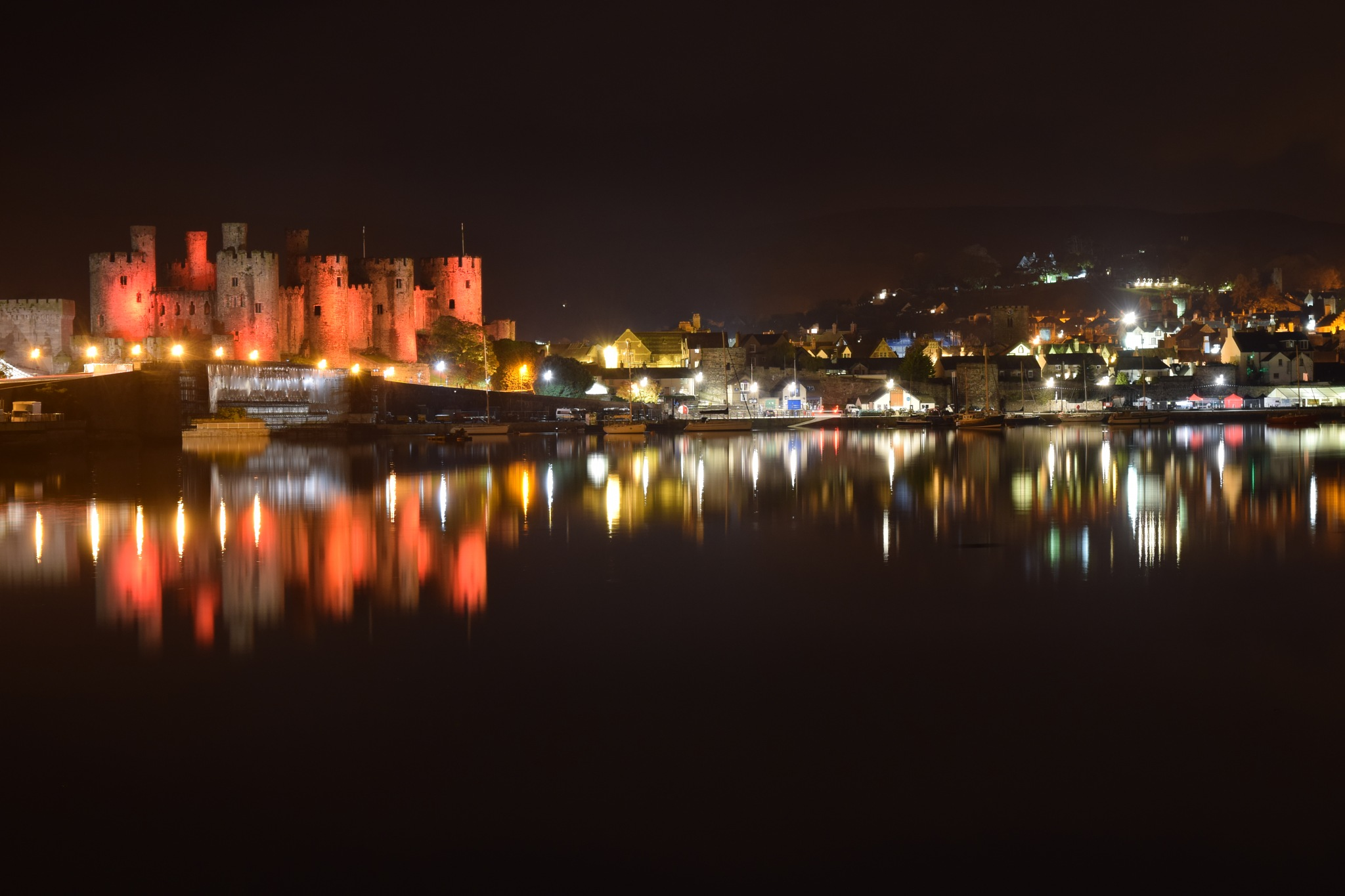 Conway Castle by smudgesmat