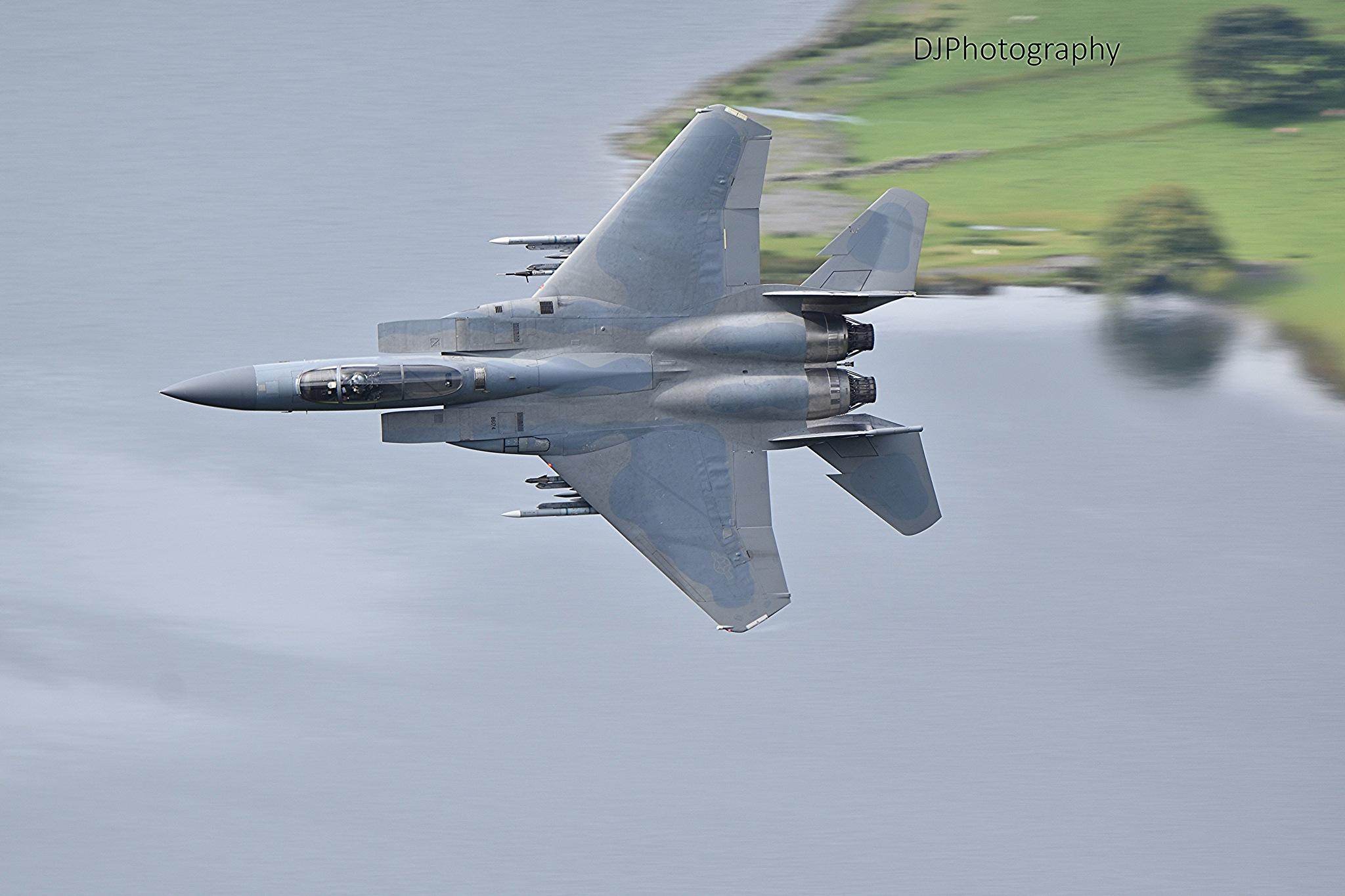 F15 low fly Tal Y Llyn by smudgesmat