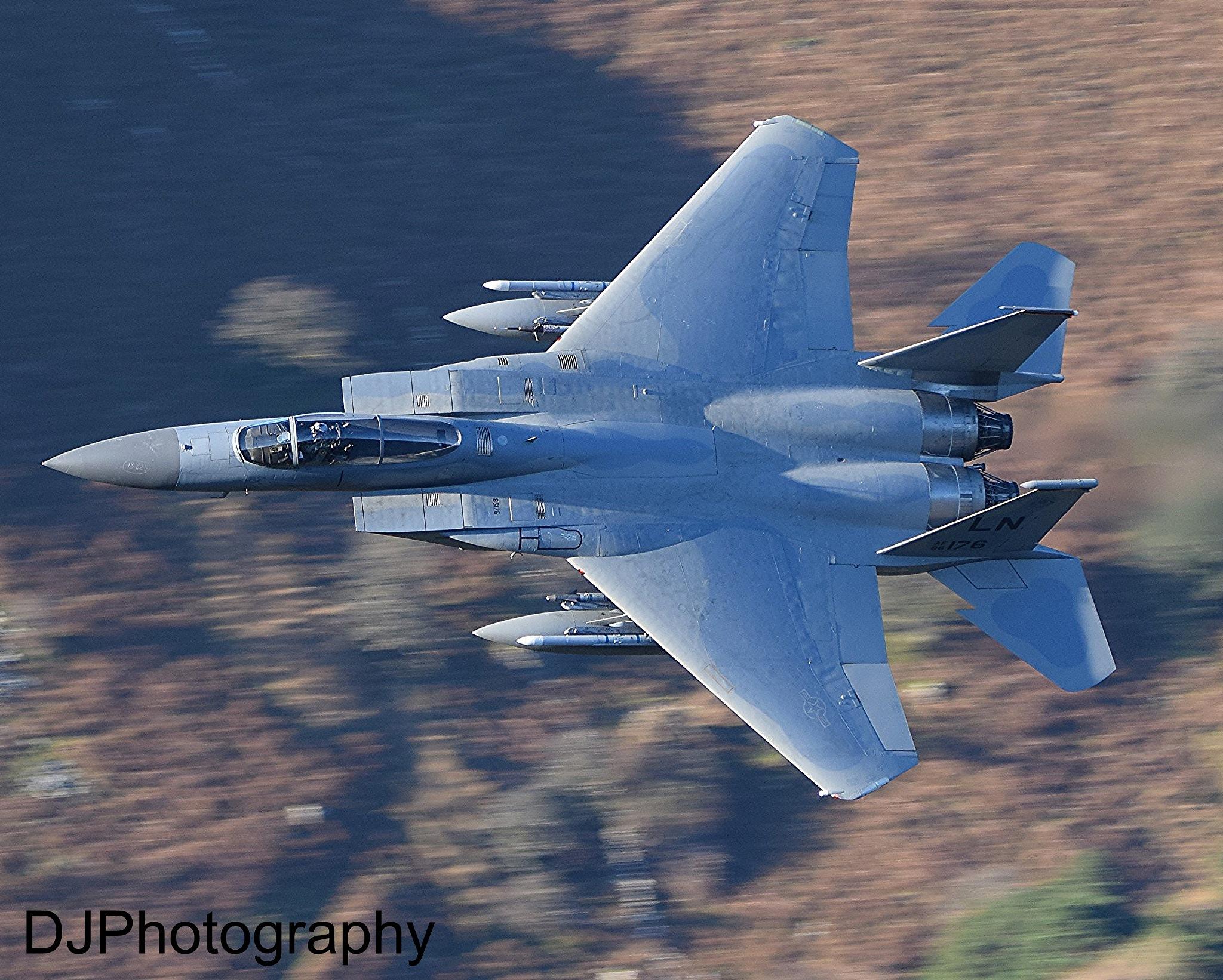 USAF F15 Mach Loop by smudgesmat