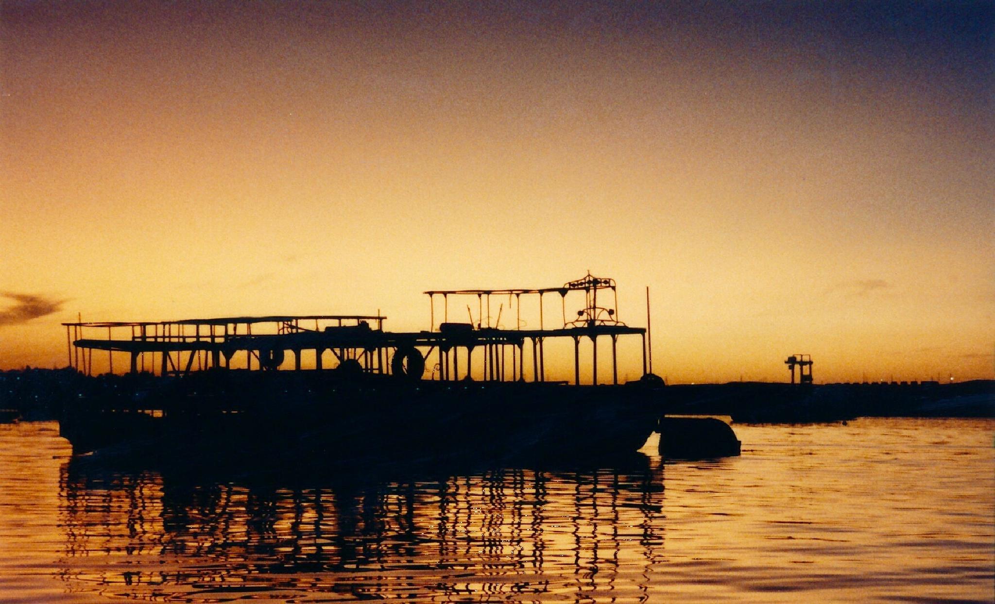 Sunset on the Nile by djaffar adane