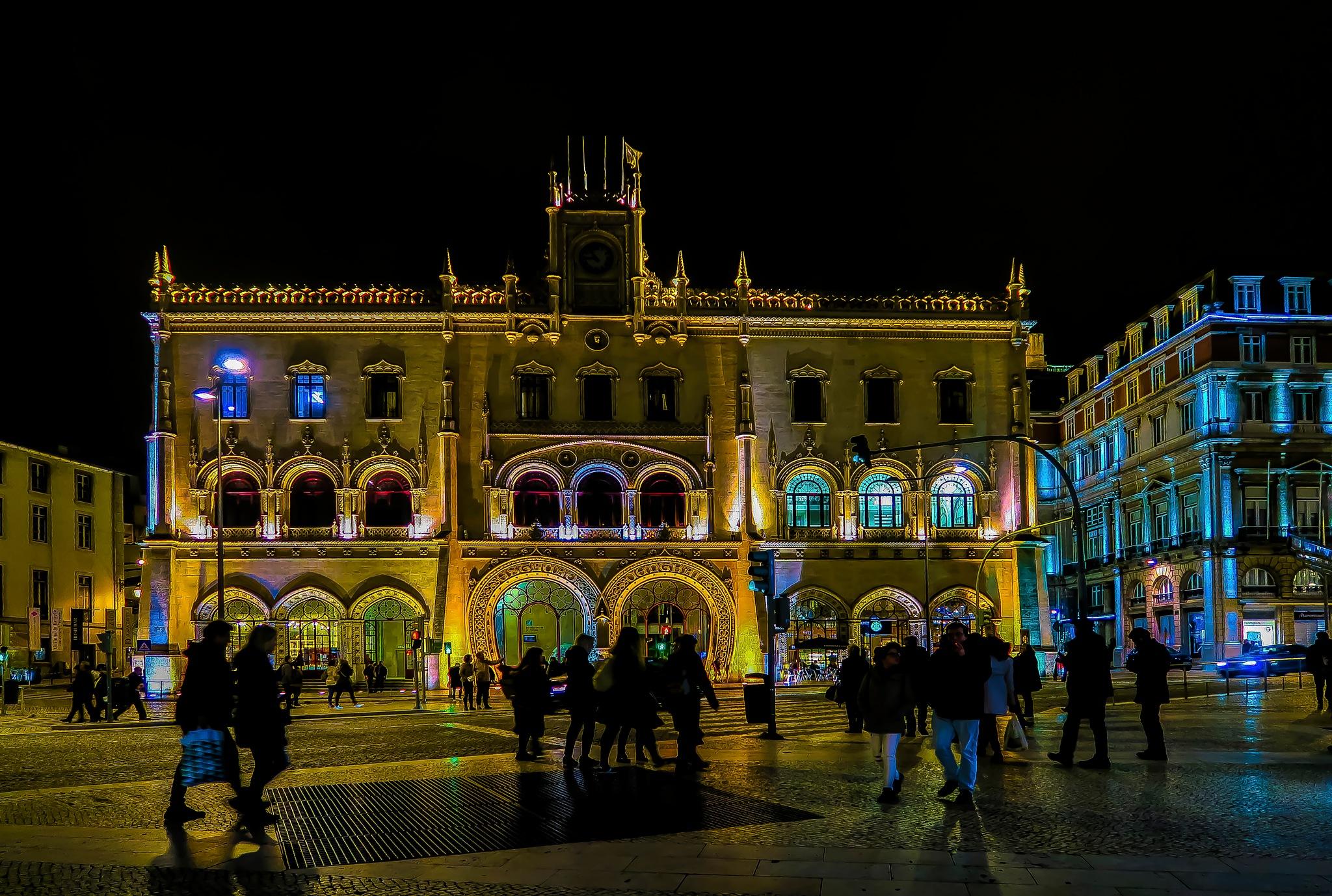 A night in Lisbon by djaffar adane