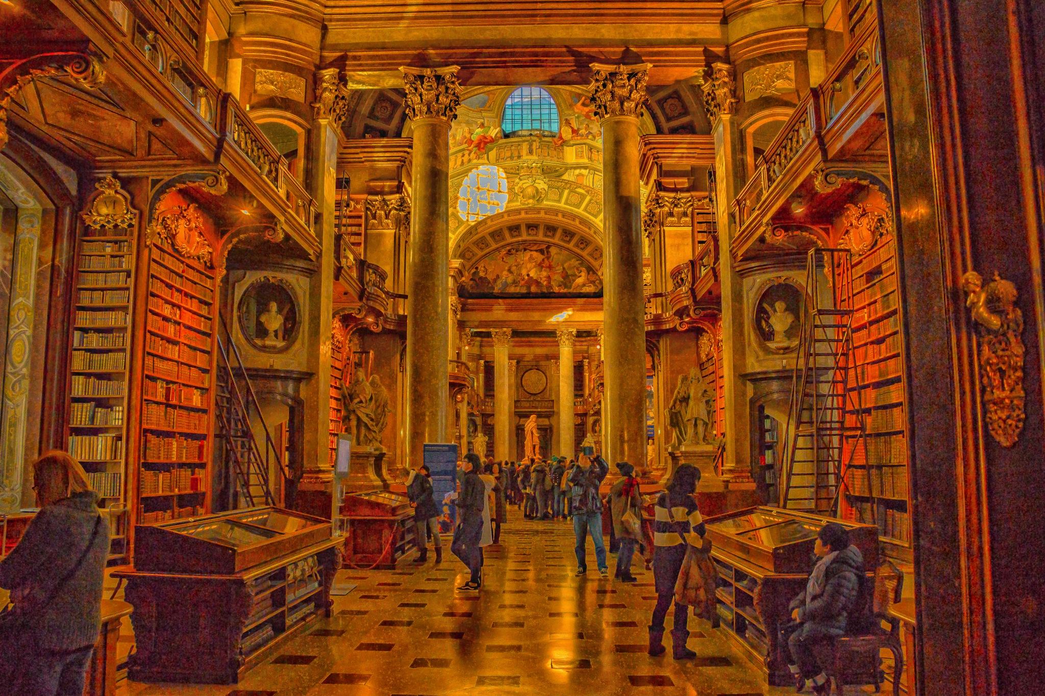 Library by djaffar adane