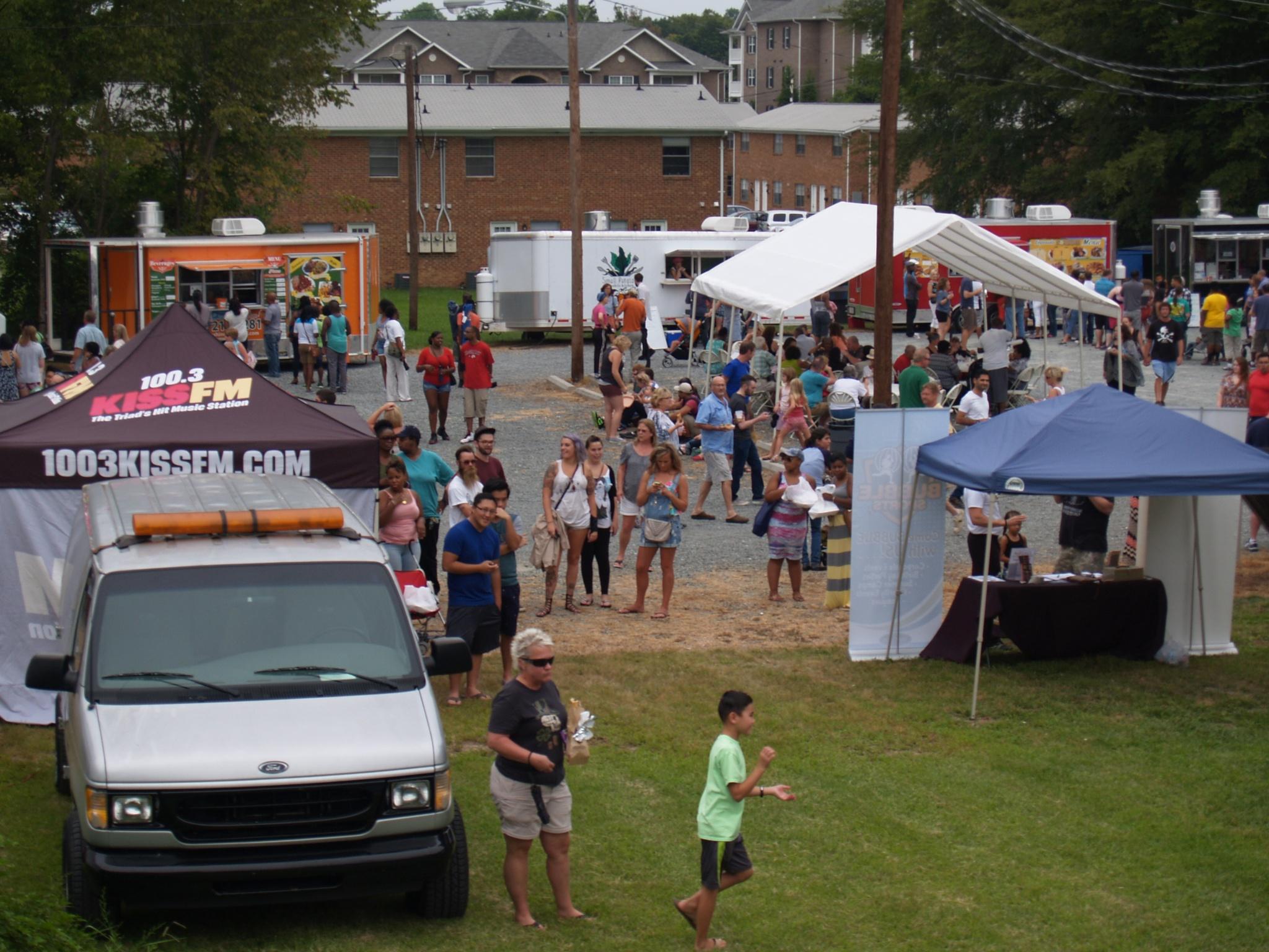 2015 Food Truck Festival Greensboro NC by bobby eaken