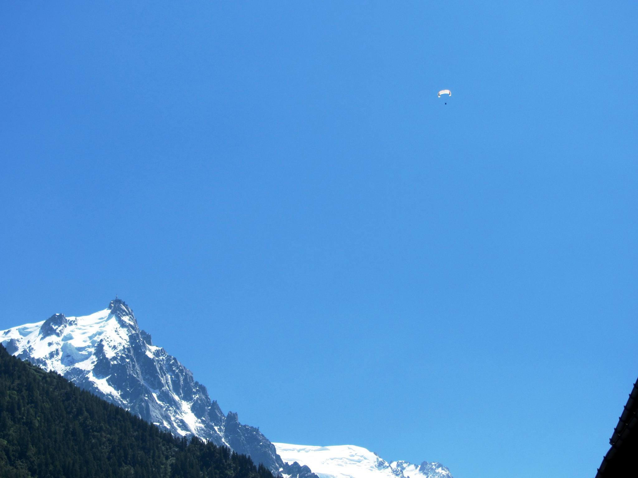 paragliding over the french Alps  by andreea